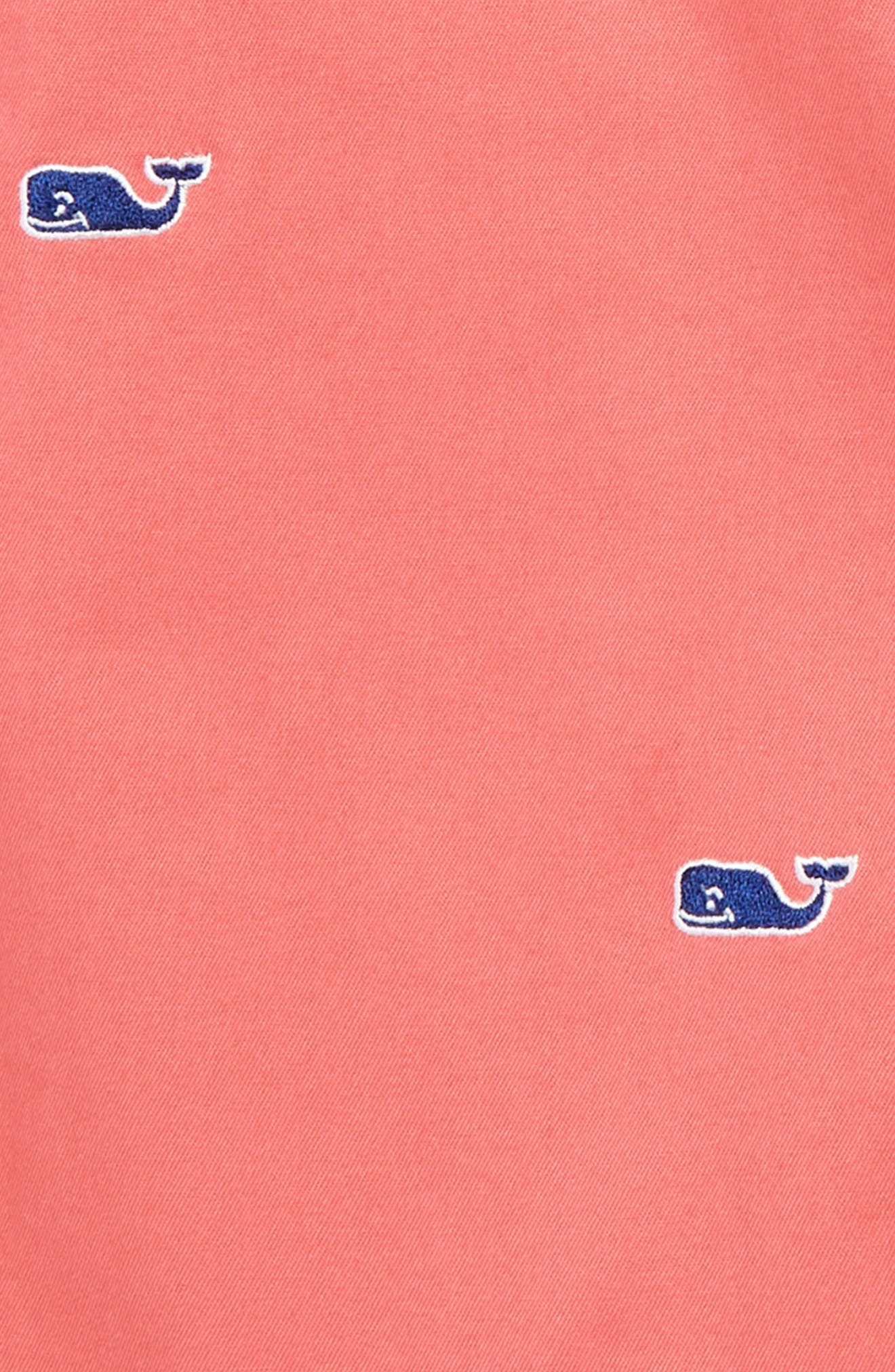 VINEYARD VINES,                             Embroidered Stretch Breaker Shorts,                             Alternate thumbnail 2, color,                             JETTY RED
