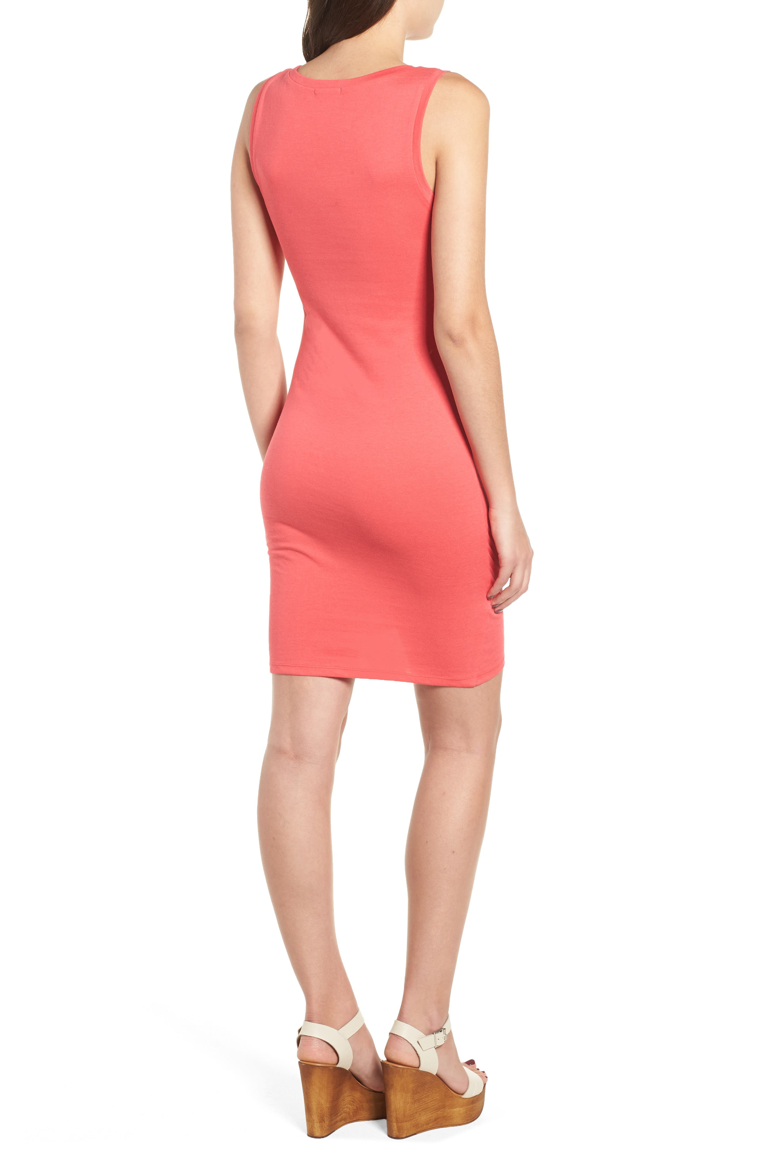 Ruched Body-Con Tank Dress,                             Alternate thumbnail 51, color,