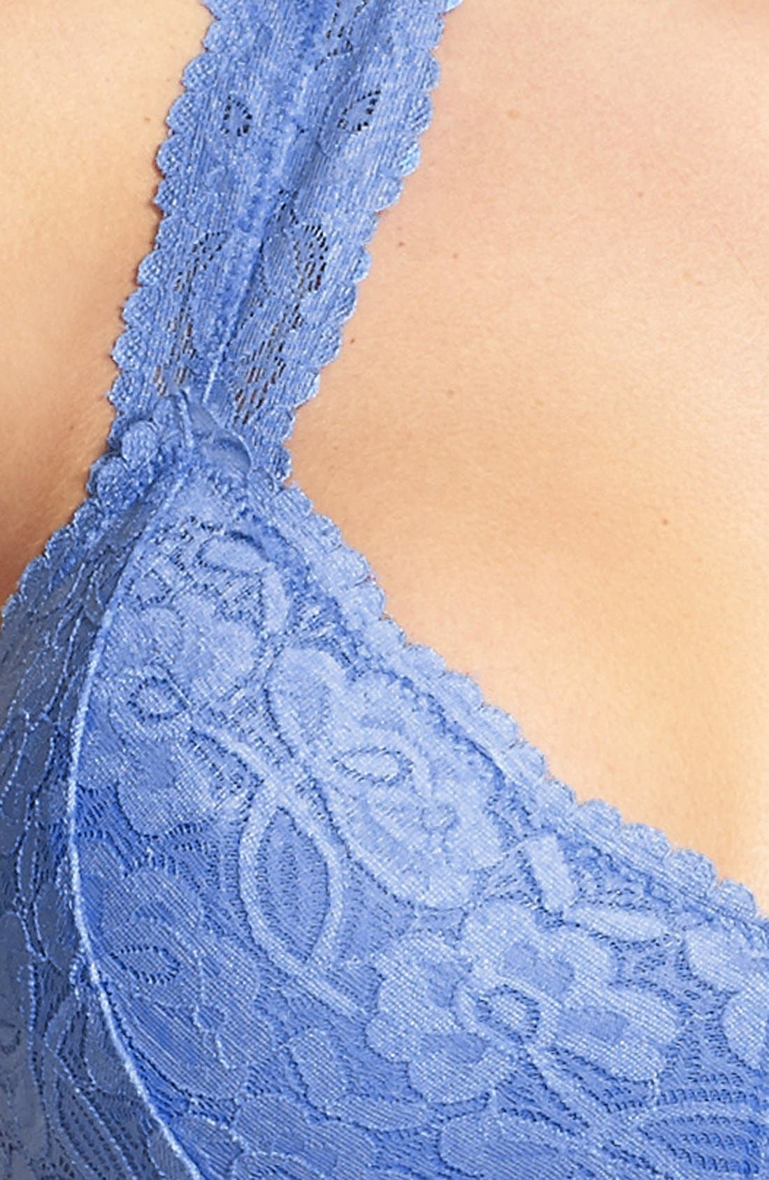 Racerback Galloon Lace Bralette,                             Alternate thumbnail 151, color,