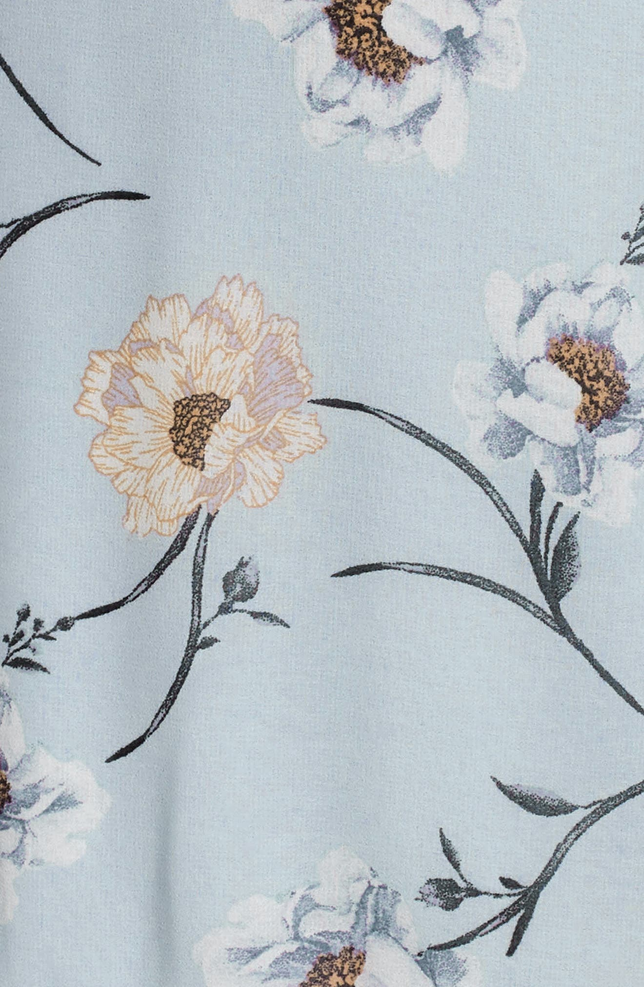 Flutter Sleeve Minidress,                             Alternate thumbnail 12, color,                             400
