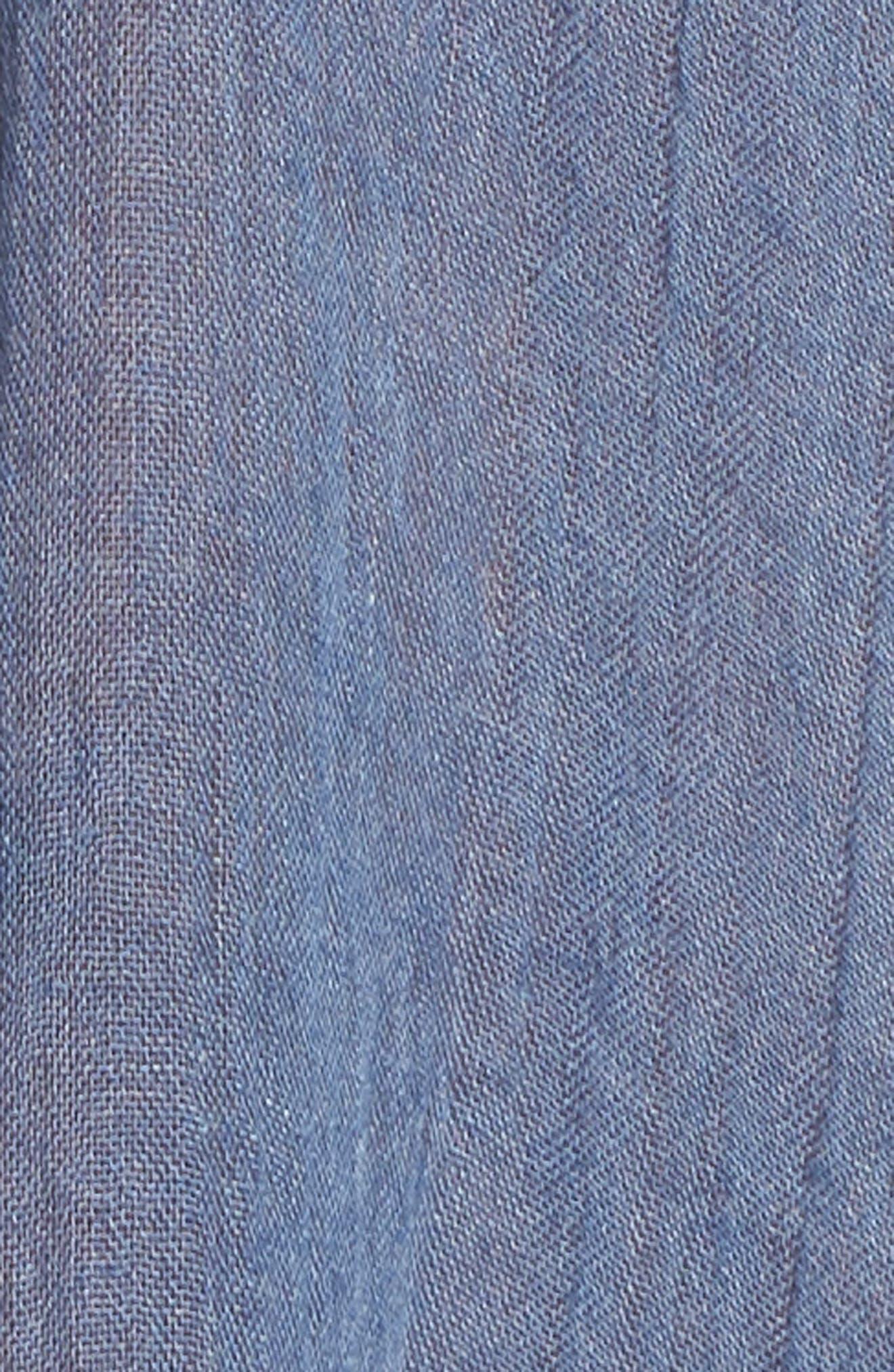 Cold Shoulder Cover-Up Dress,                             Alternate thumbnail 5, color,                             414