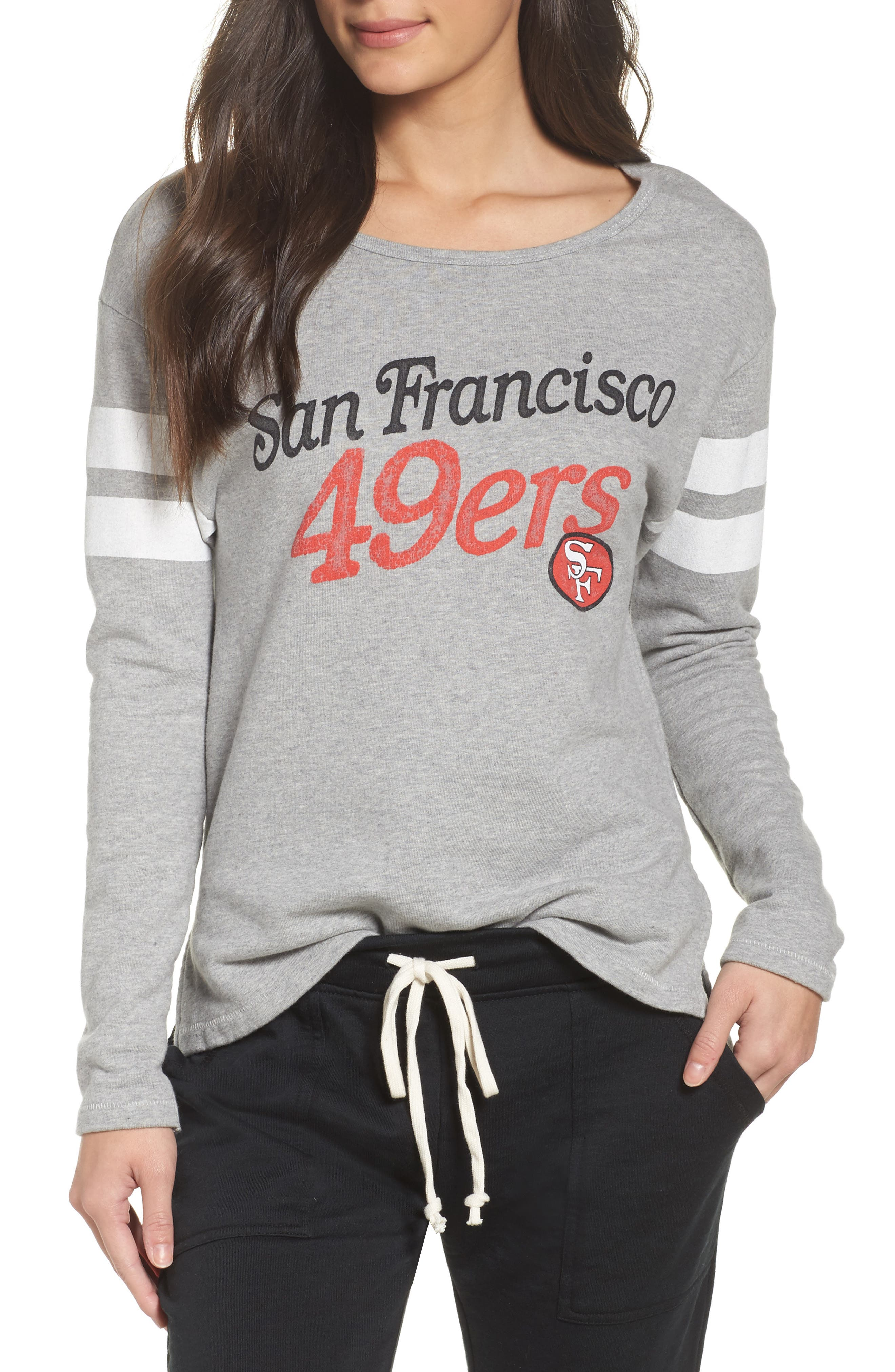 NFL San Francisco 49ers Champion Sweatshirt,                             Main thumbnail 1, color,