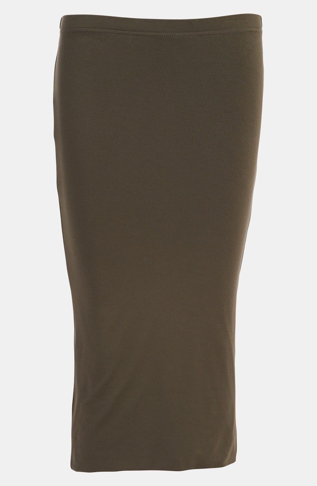 Double Layered Tube Skirt,                             Main thumbnail 4, color,