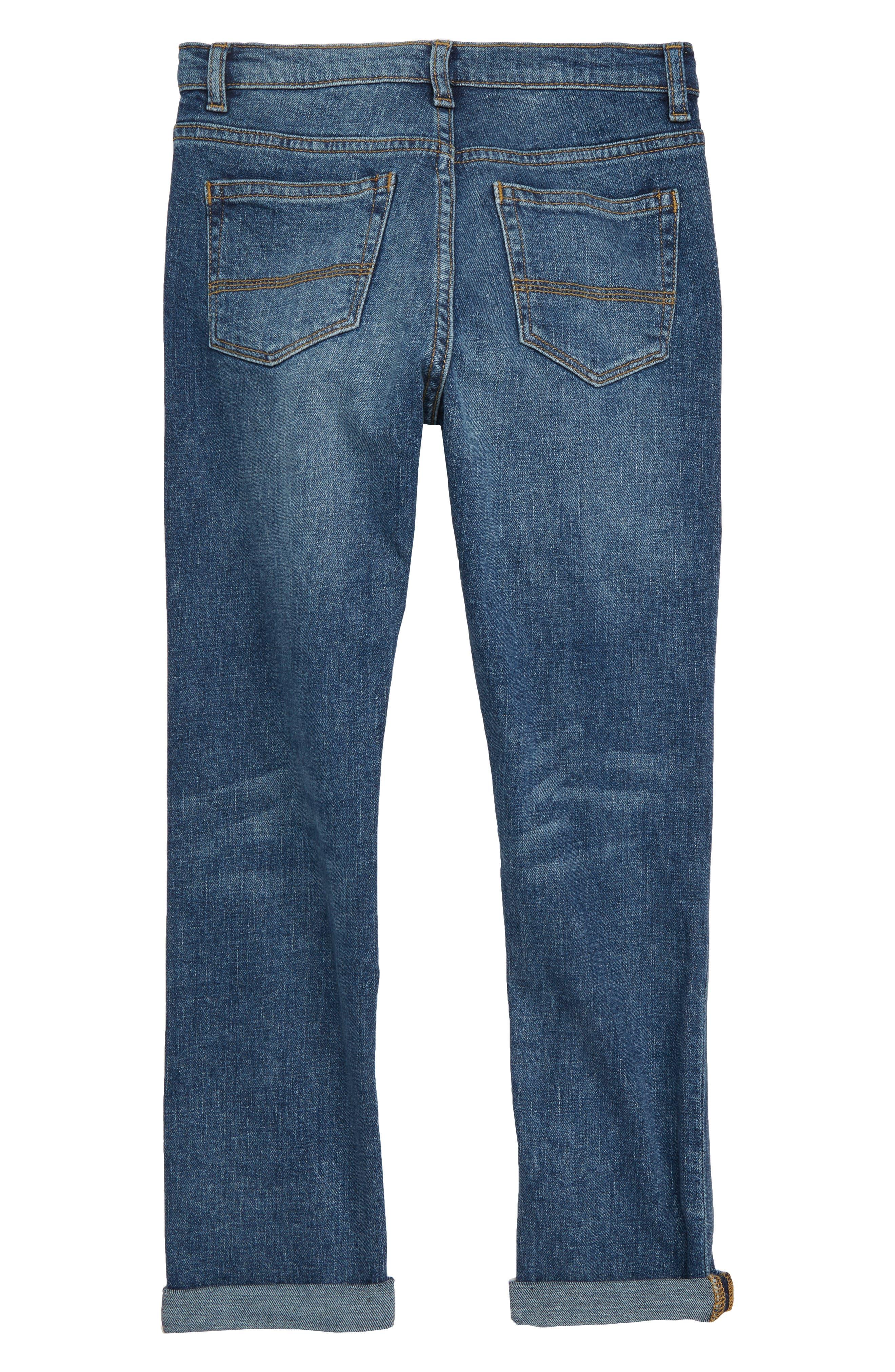 Slouch Jeans,                             Alternate thumbnail 2, color,                             MEDIUM WASH
