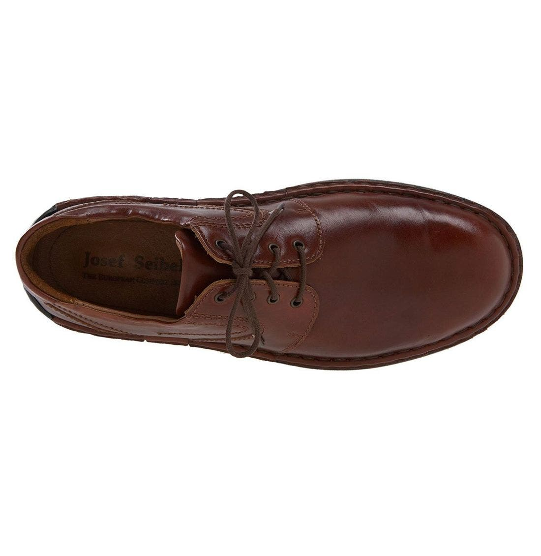 JOSEF SEIBEL,                             'Walt' Casual Oxford,                             Alternate thumbnail 2, color,                             ROMA BRANDY
