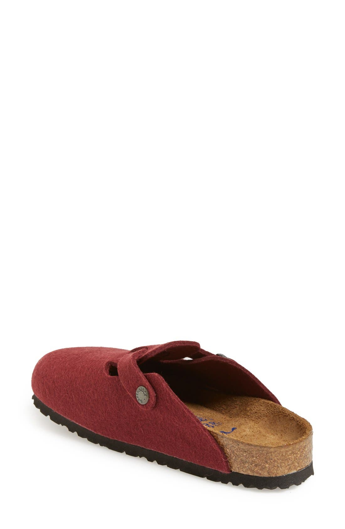 'Boston' Classic Oiled Leather Clog,                             Alternate thumbnail 35, color,