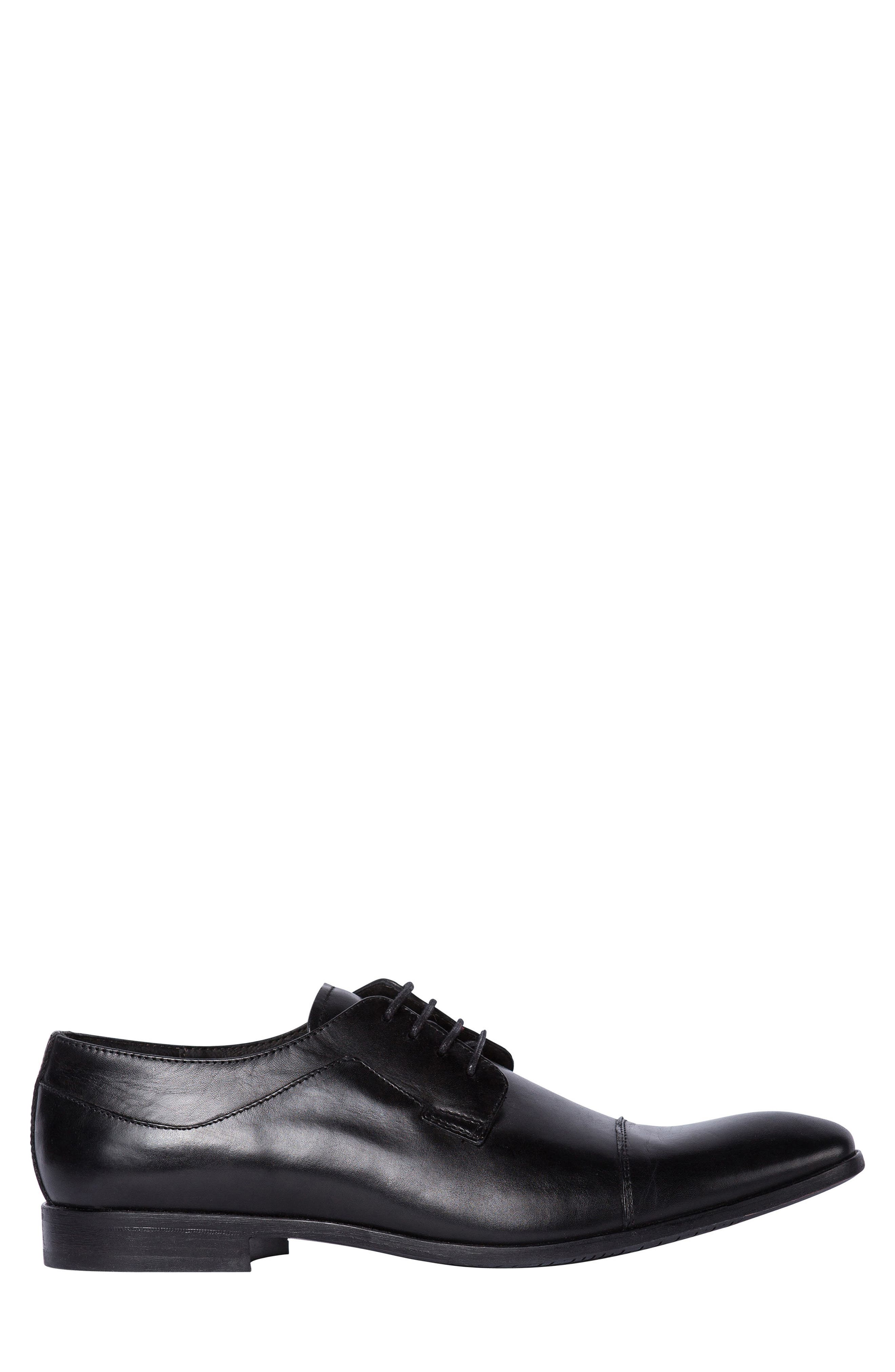 Admiral's Way Cap Toe Derby,                             Alternate thumbnail 3, color,                             001