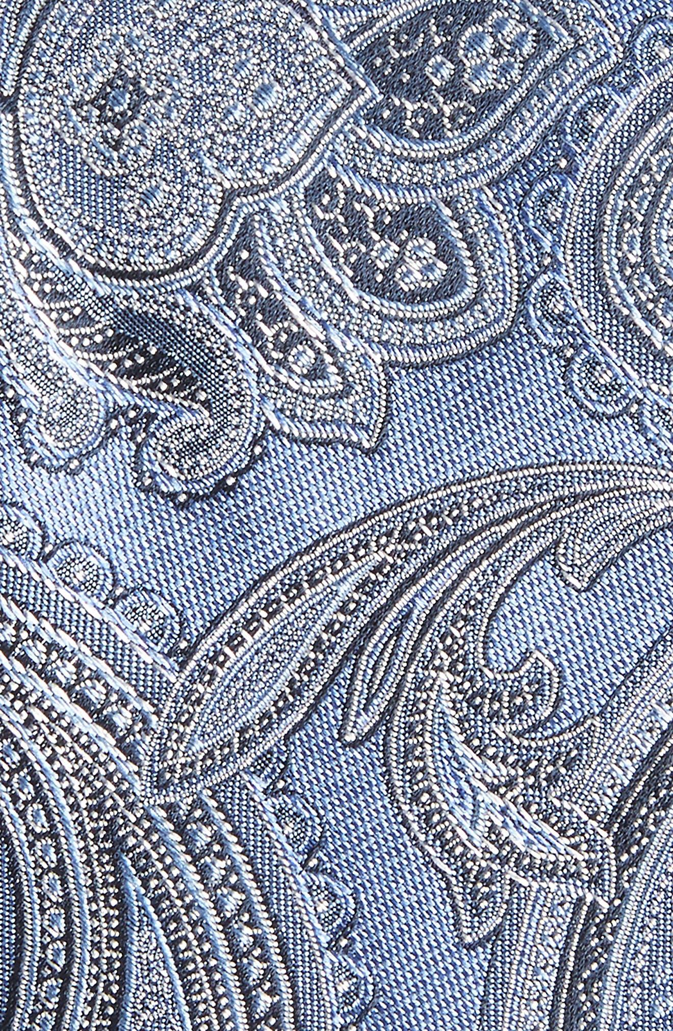 Barga Paisley Silk Tie,                             Alternate thumbnail 8, color,