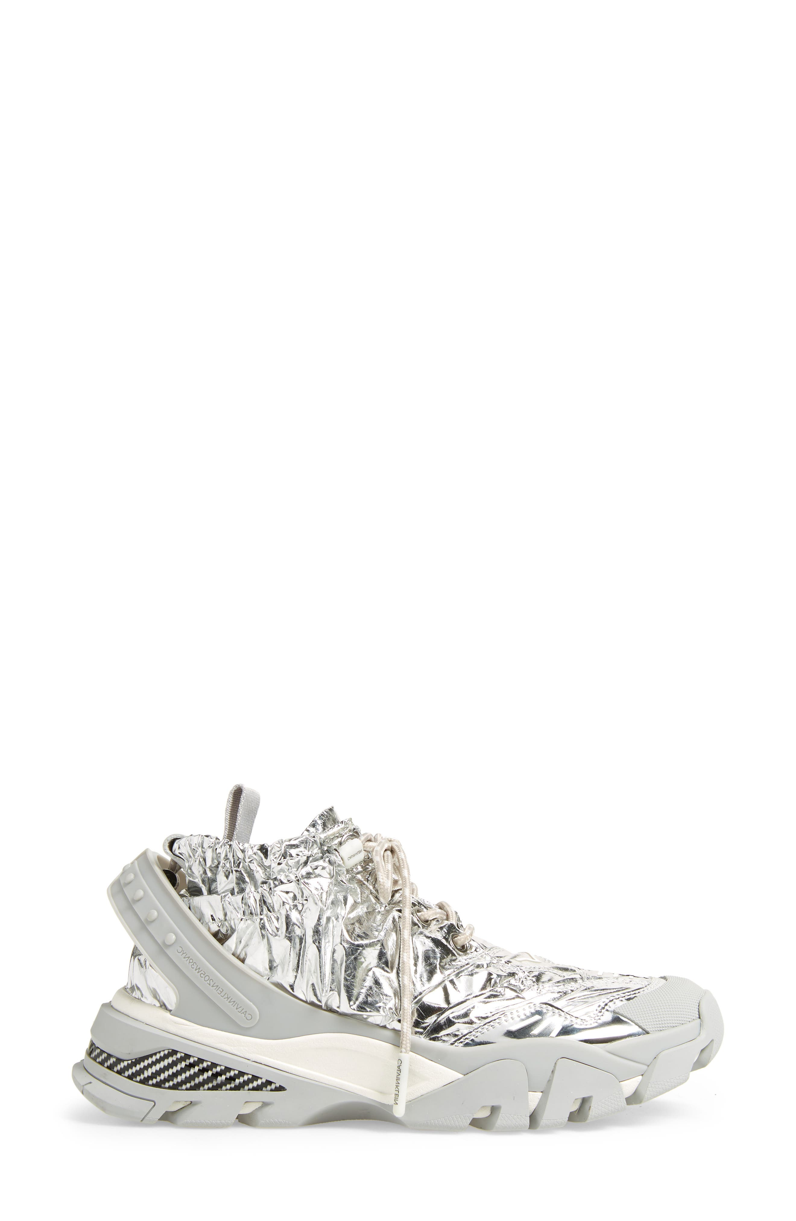 Caramene Sneaker,                             Alternate thumbnail 3, color,                             GREY/ WHITE