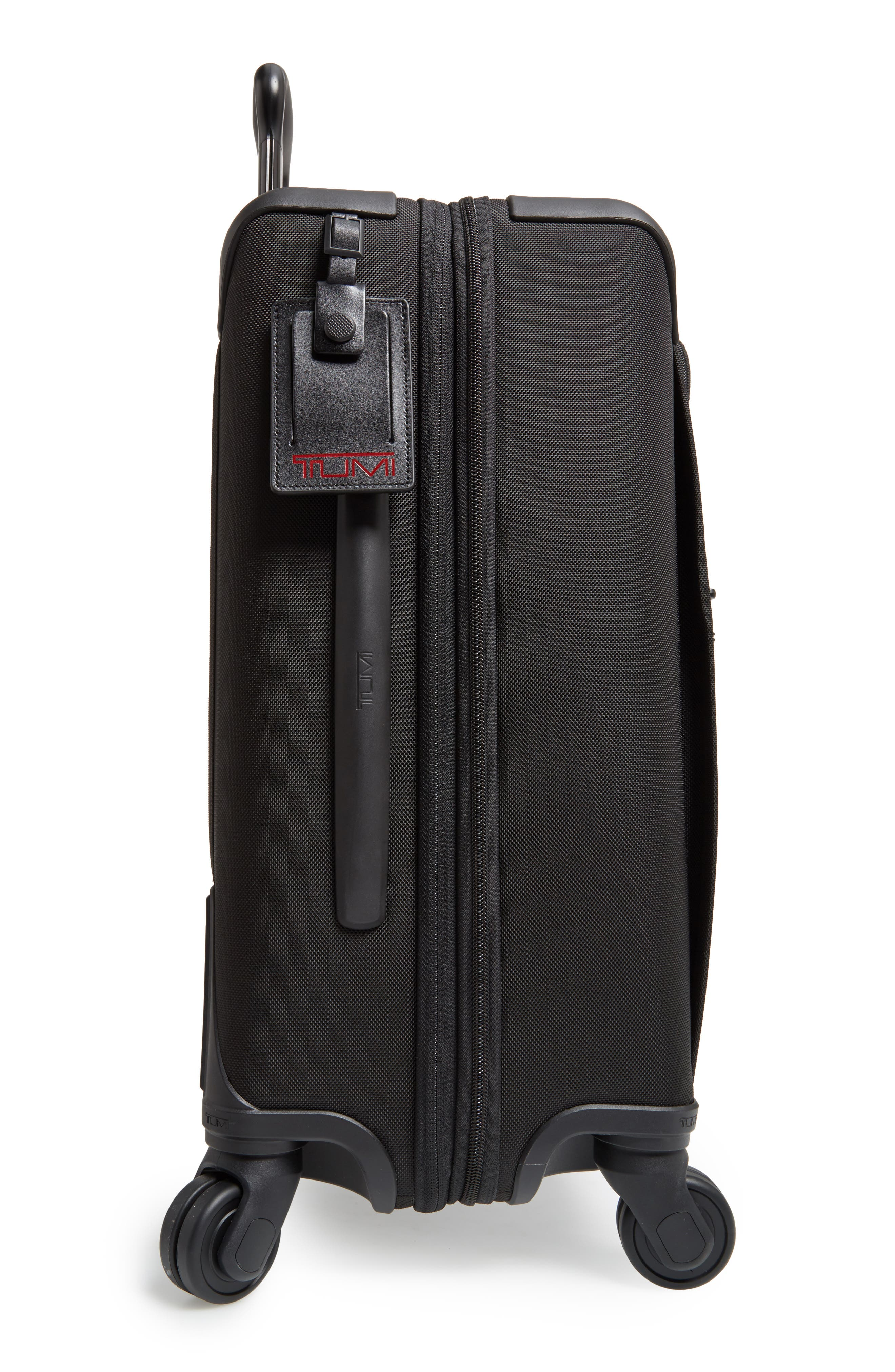 Alpha 2 Continental 22-Inch Carry-On,                             Alternate thumbnail 4, color,                             BLACK