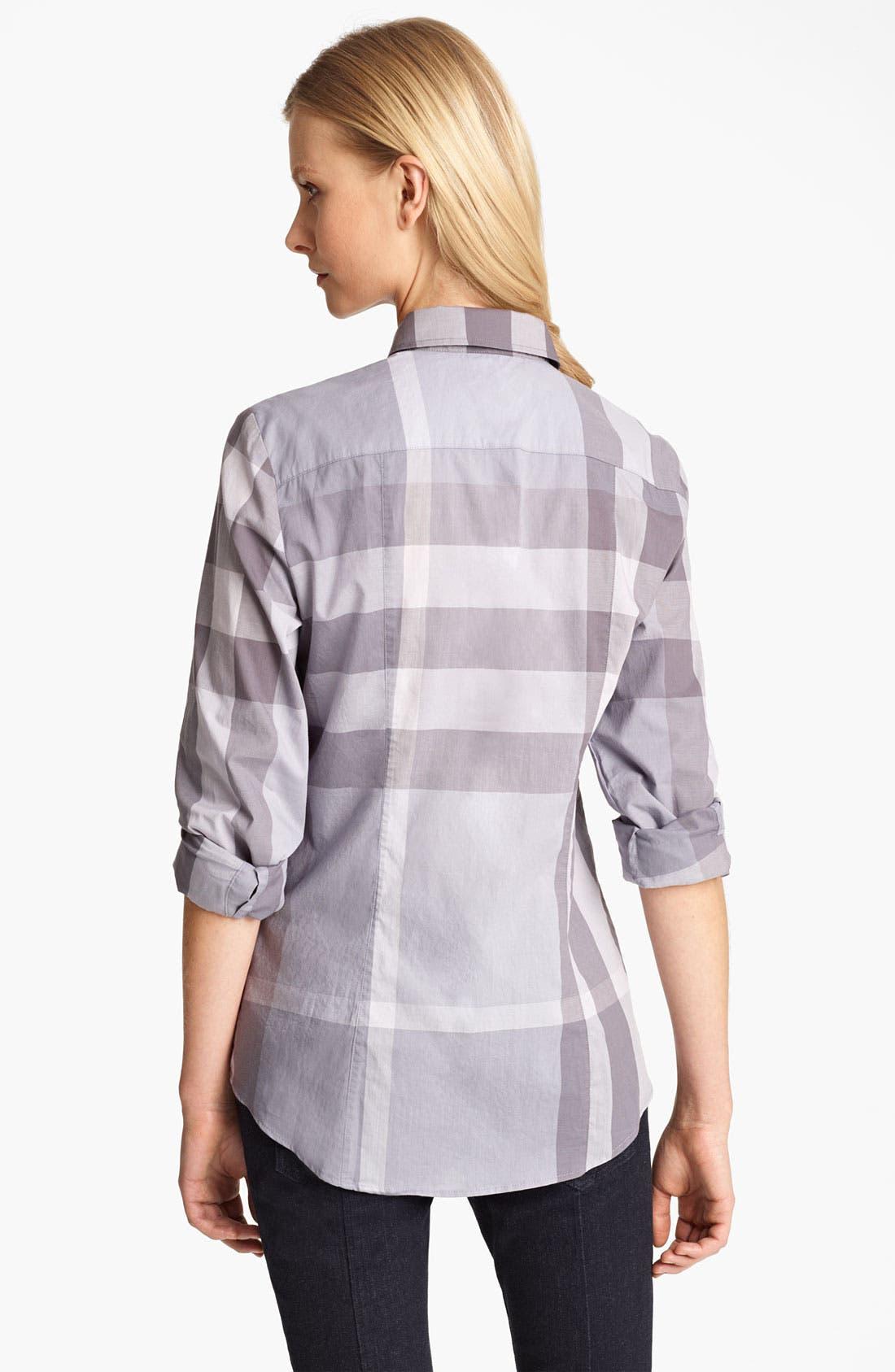 Check Woven Shirt,                             Alternate thumbnail 3, color,                             050