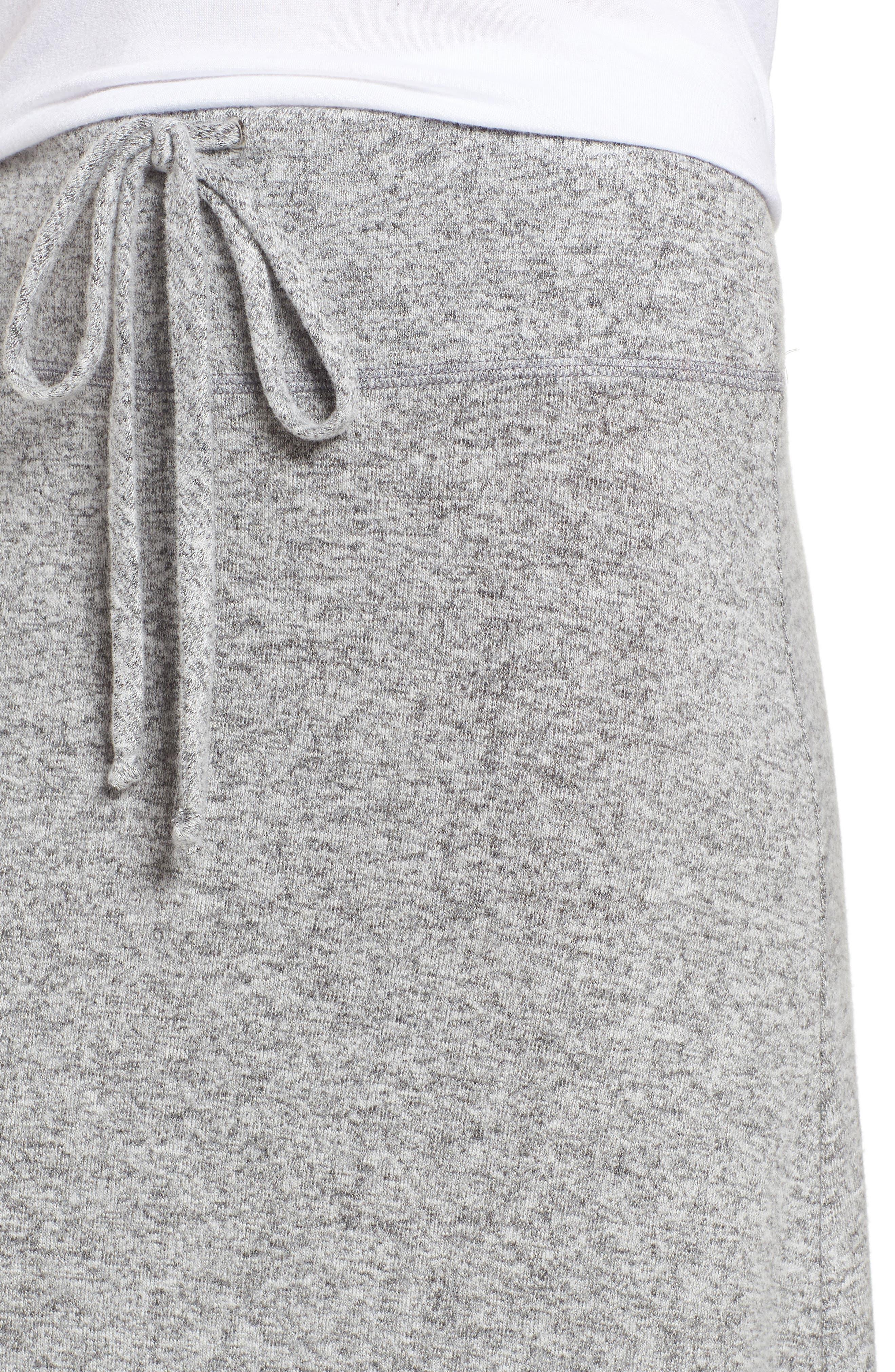 Fleece Maxi Skirt,                             Alternate thumbnail 4, color,                             055