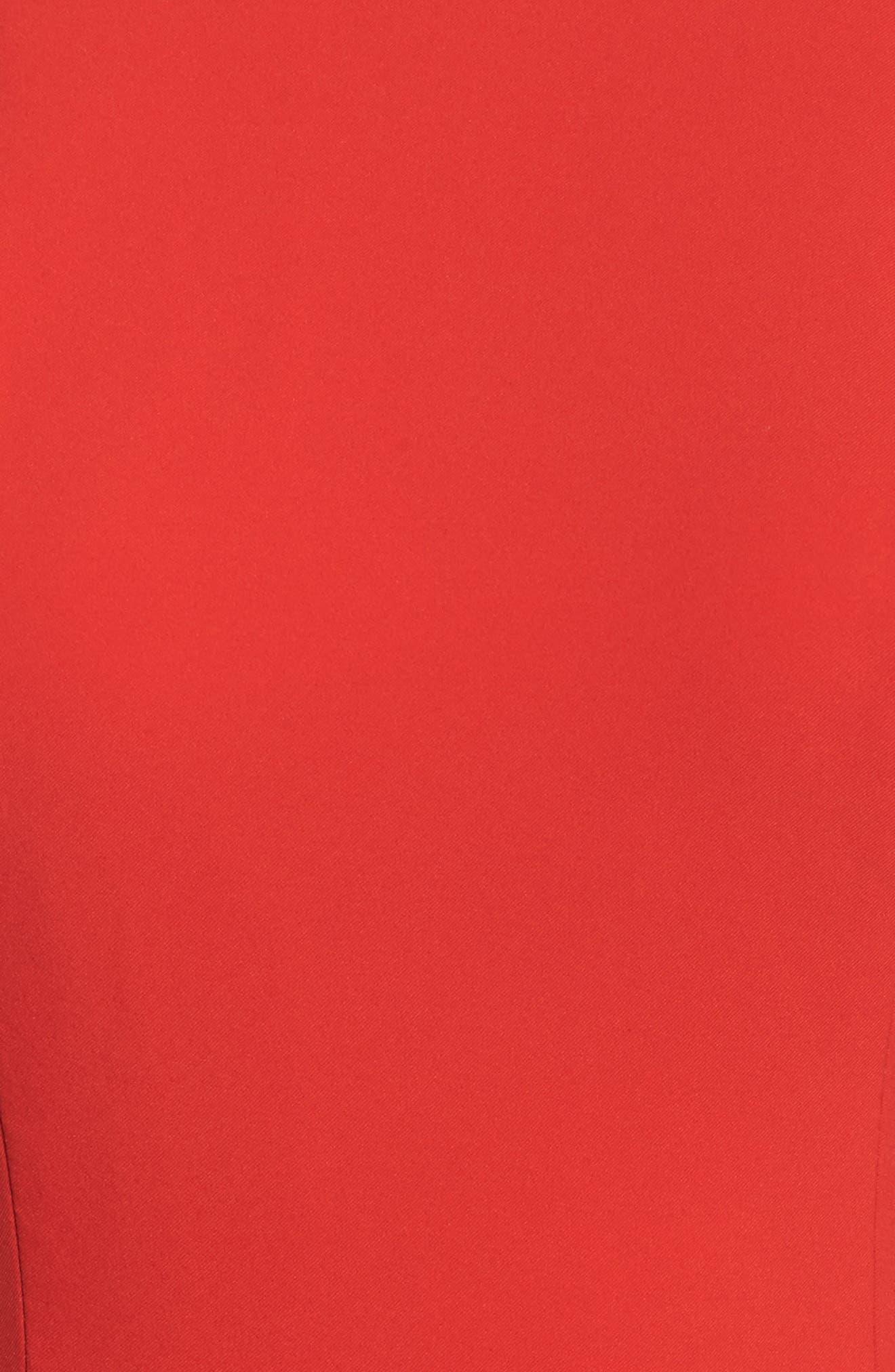 Jemima Ruffle Back Mermaid Gown,                             Alternate thumbnail 10, color,