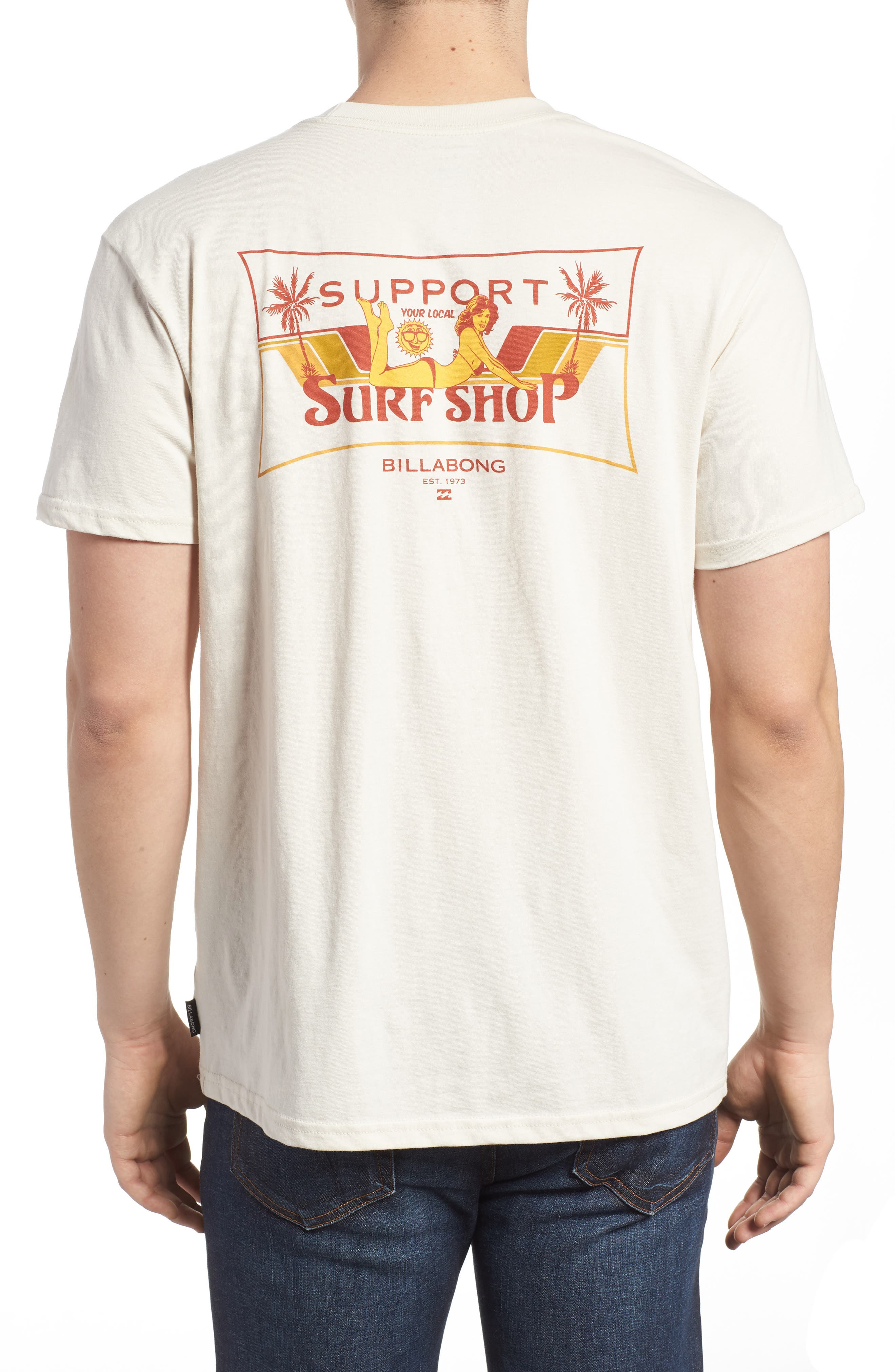 Support Graphic T-Shirt,                             Alternate thumbnail 3, color,