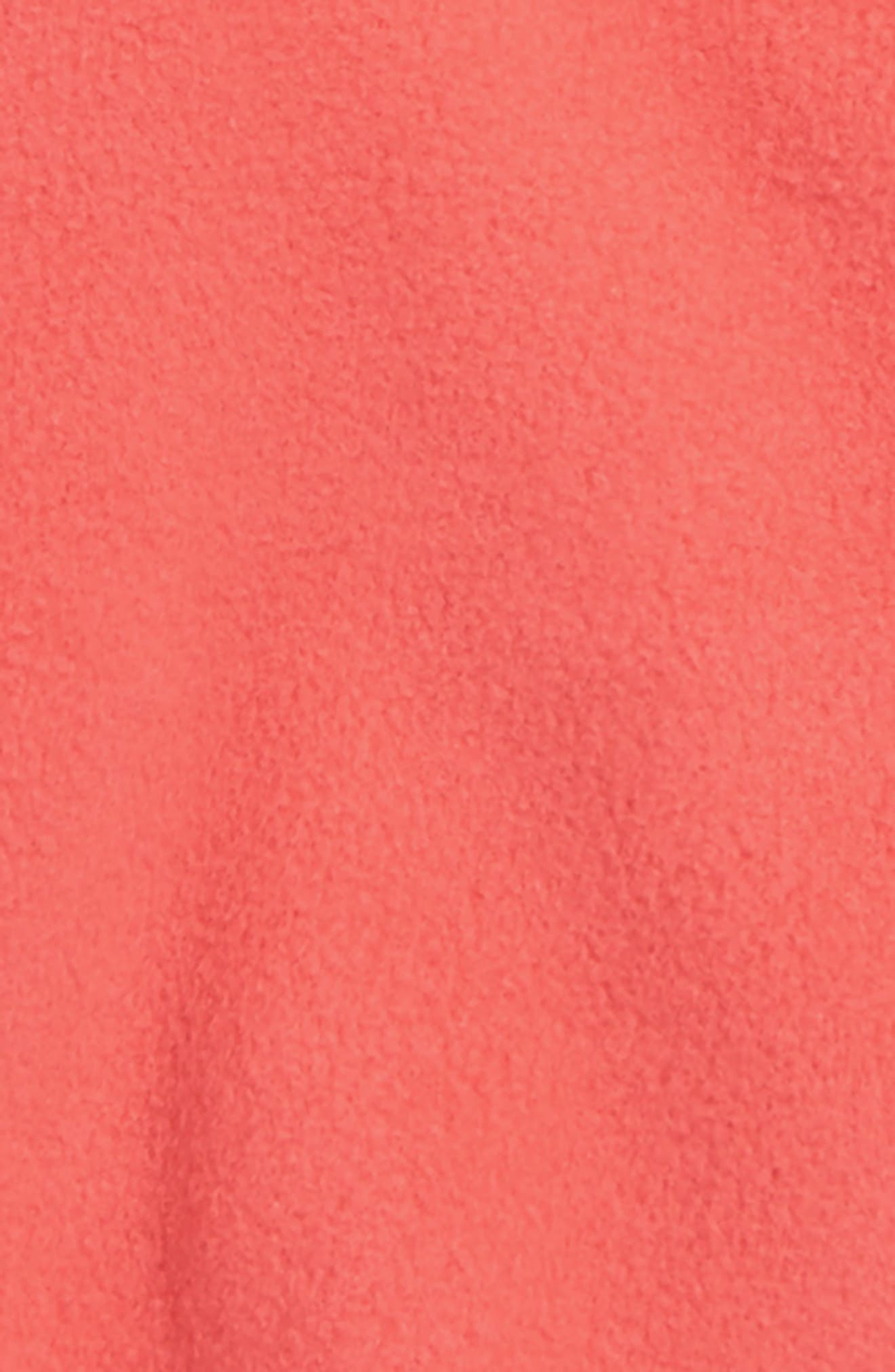 Micro D<sup>®</sup> Snap-T<sup>®</sup> Fleece Jacket,                             Alternate thumbnail 2, color,                             SPICED CORAL