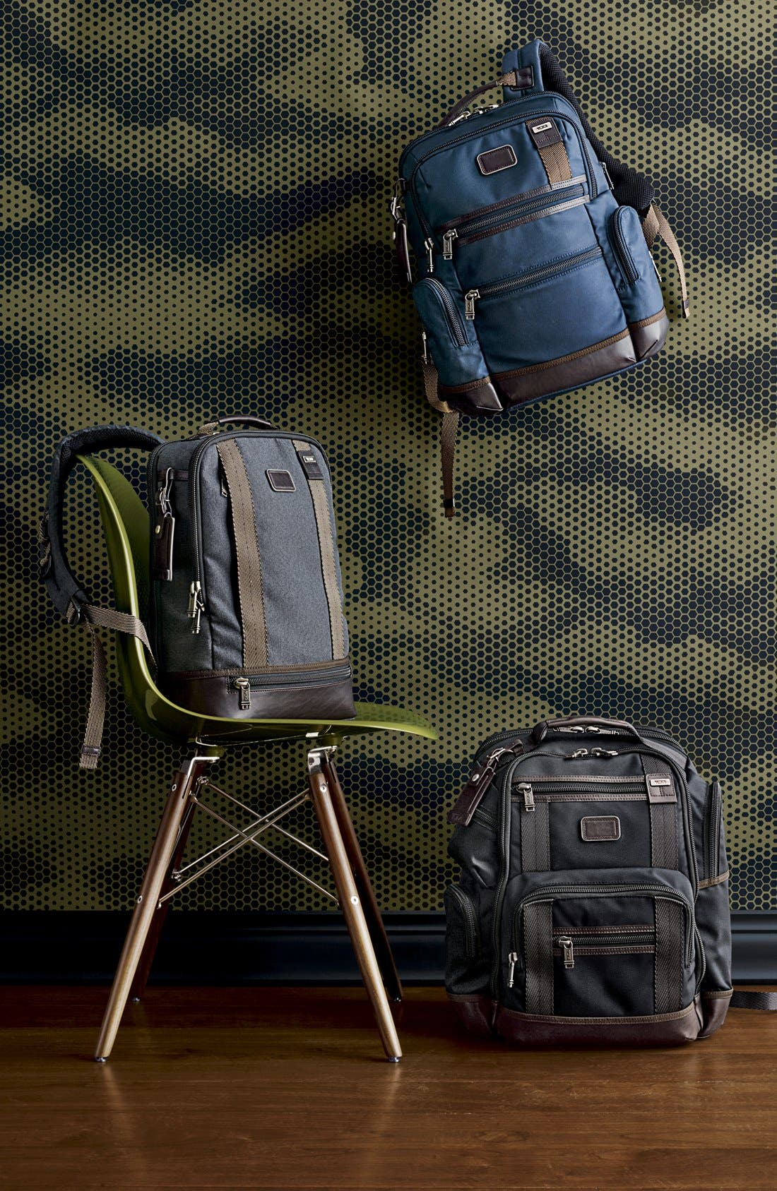 TUMI,                             Alpha Bravo Dover Backpack,                             Alternate thumbnail 6, color,                             010