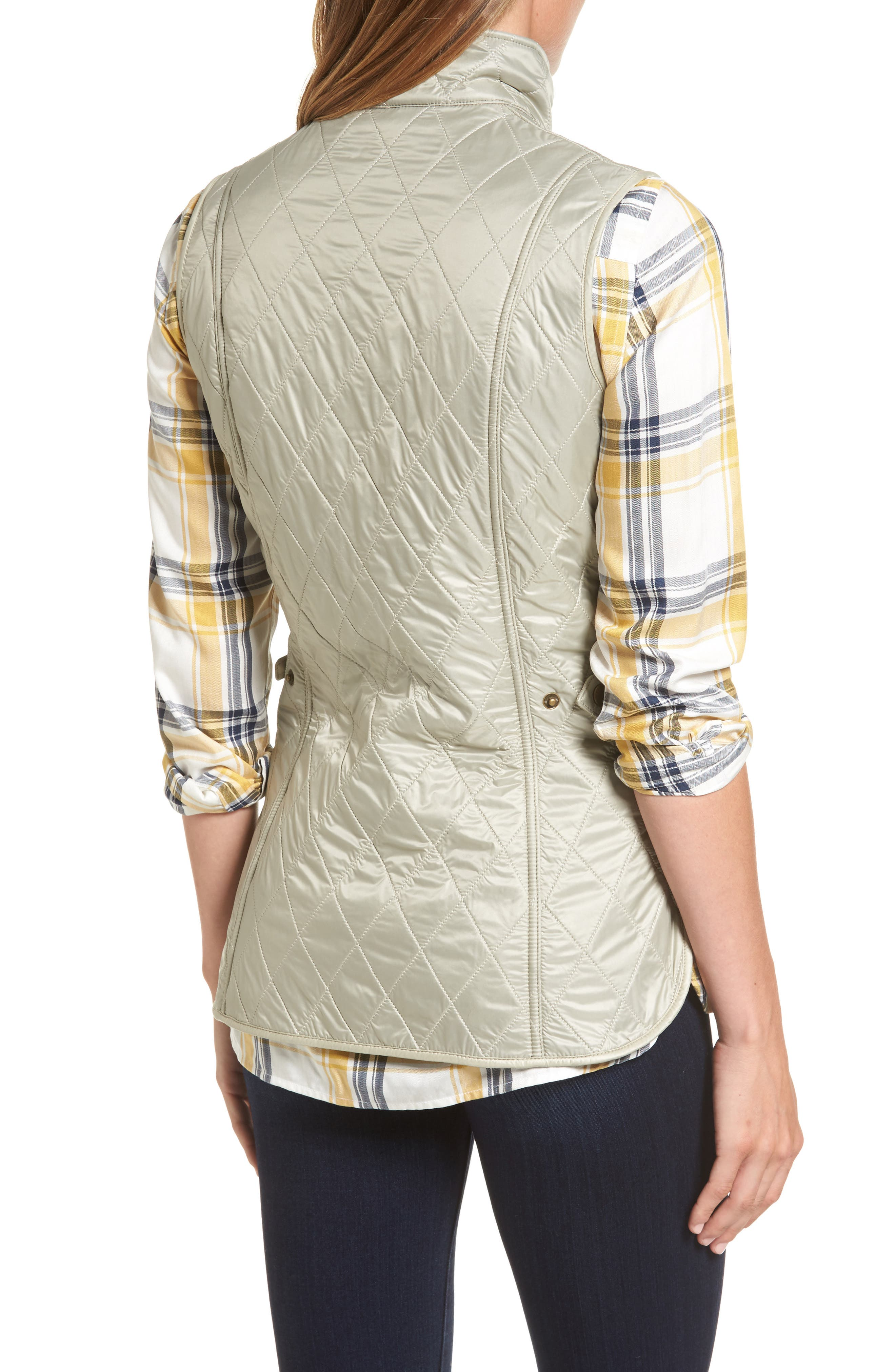 Wray Water Resistant Quilted Gilet,                             Alternate thumbnail 6, color,