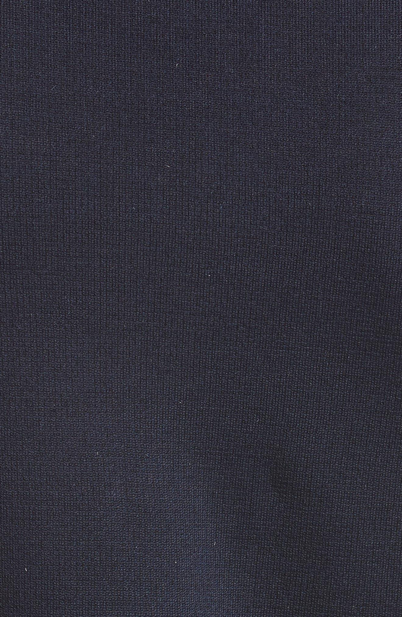 Milano Knit Contour Tank,                             Alternate thumbnail 5, color,                             NAVY
