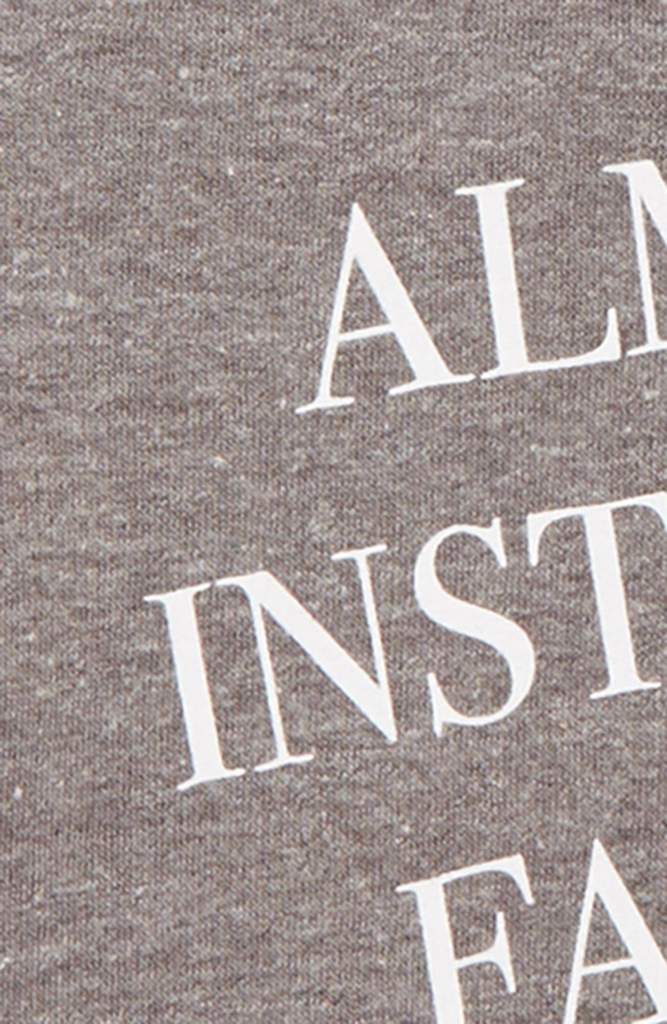 Almost Instagram Famous Pullover,                             Alternate thumbnail 2, color,                             GRAY