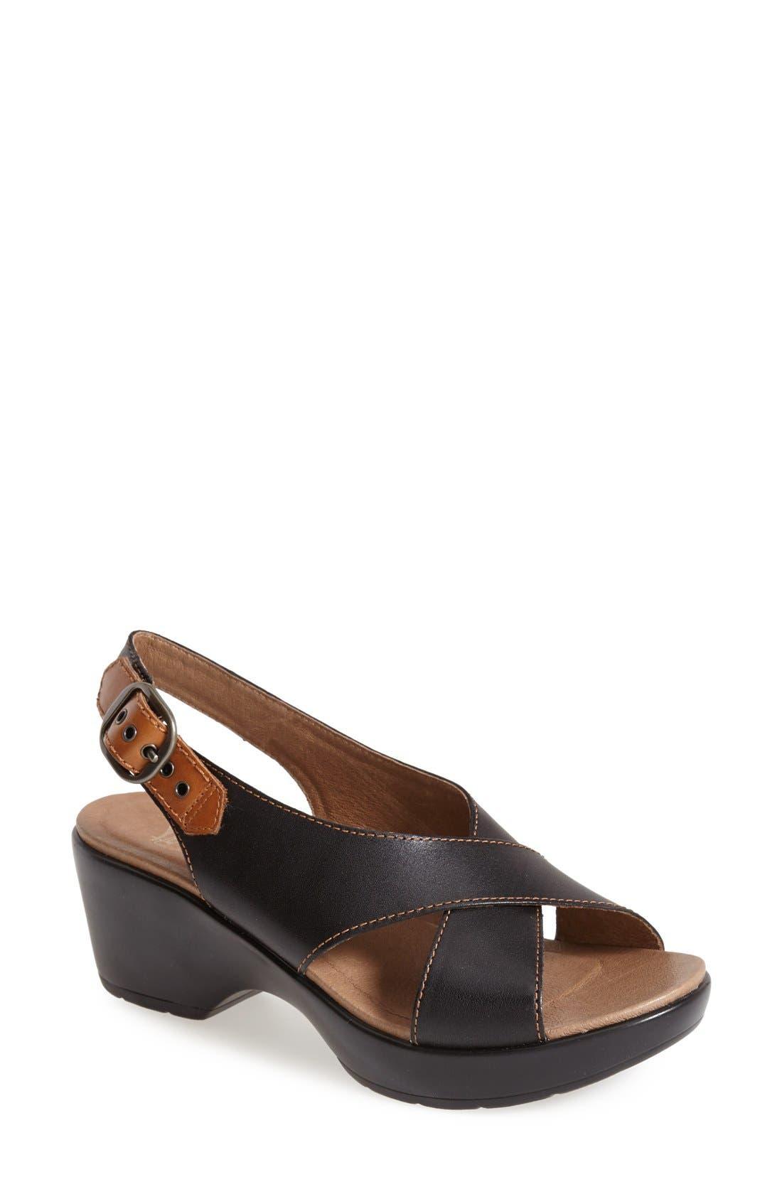 'Jacinda' Sandal,                         Main,                         color, 001