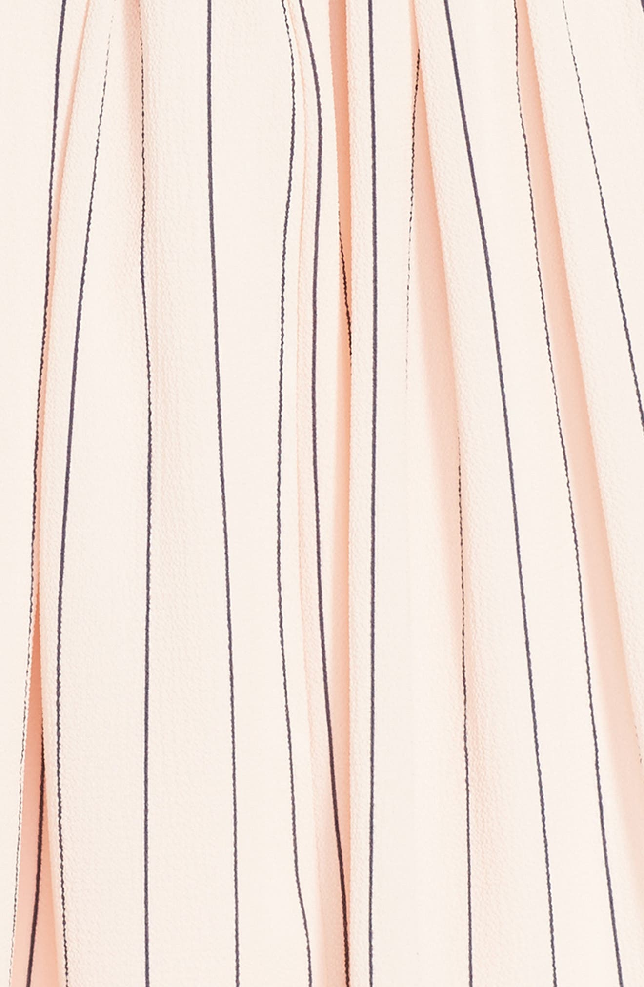Stripe Dress,                             Alternate thumbnail 3, color,                             BLUSH NAVY