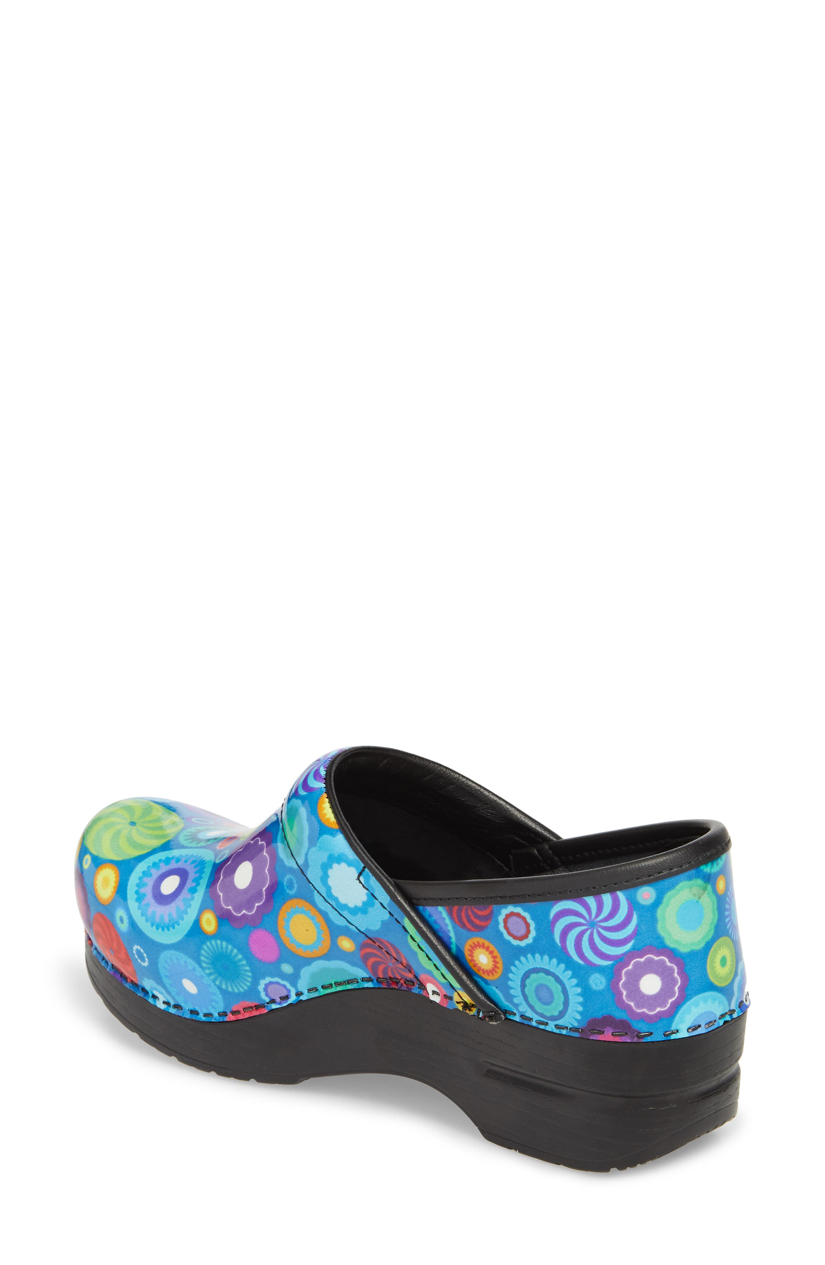 Professional Clog,                             Alternate thumbnail 2, color,                             CANDY PATENT LEATHER