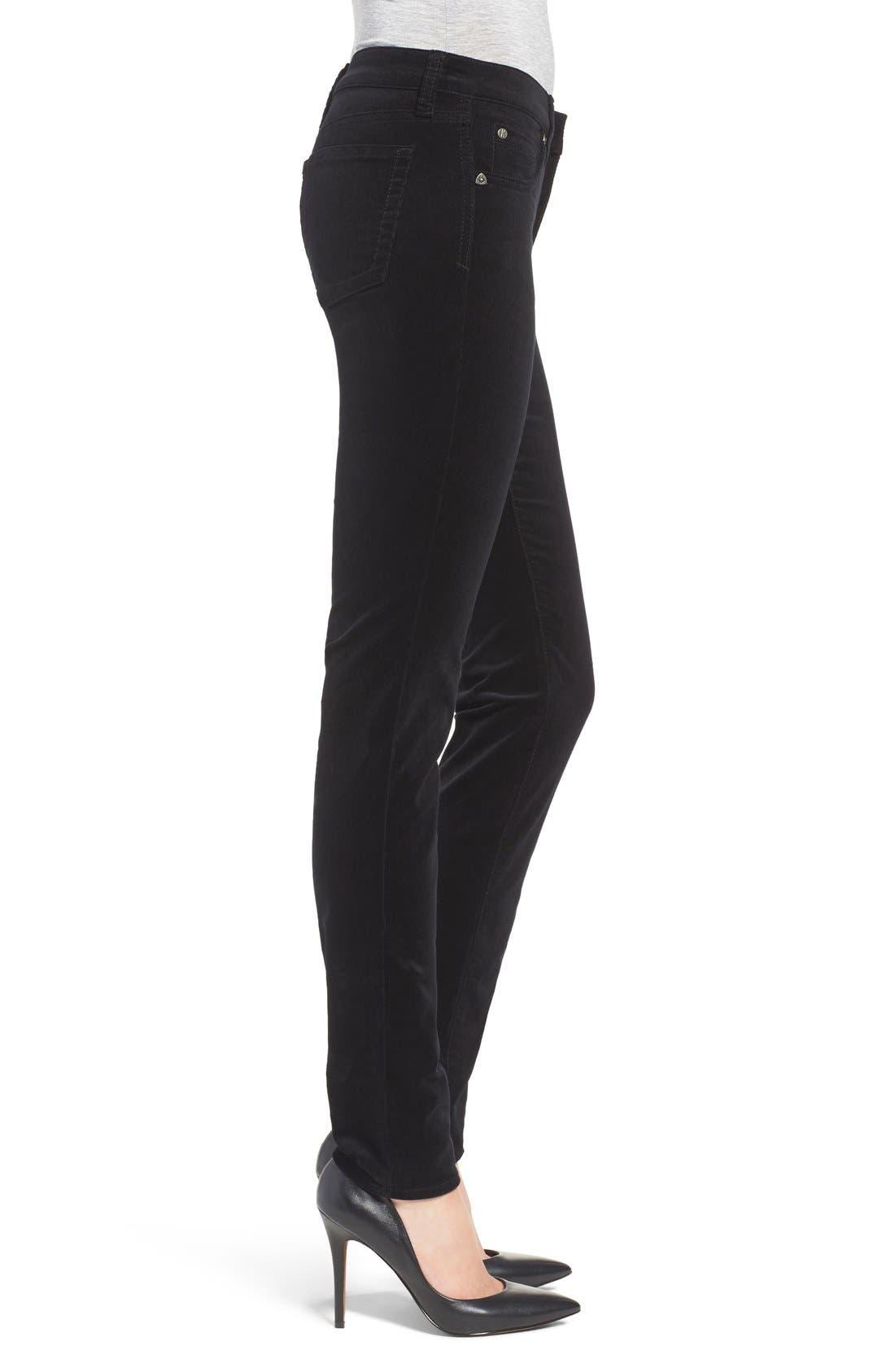 'Diana' Stretch Corduroy Skinny Pants,                             Alternate thumbnail 71, color,