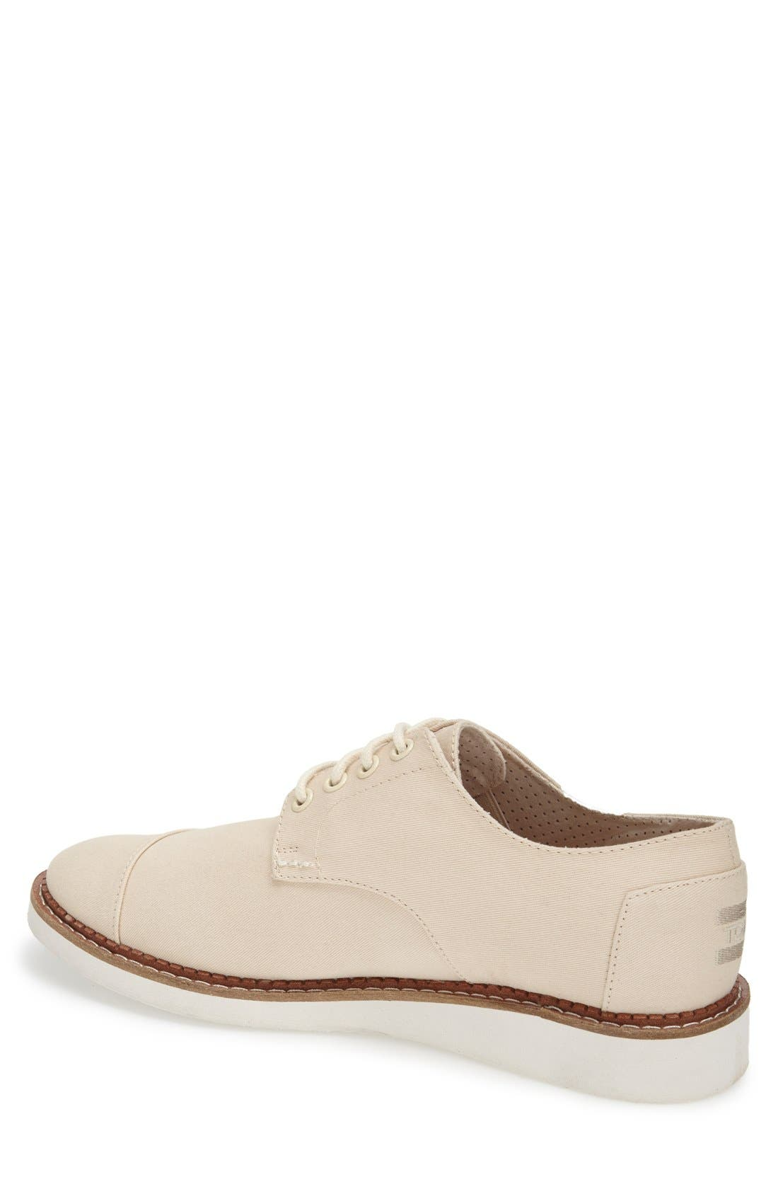 'Classic Brogue' Cotton Twill Derby,                             Alternate thumbnail 24, color,