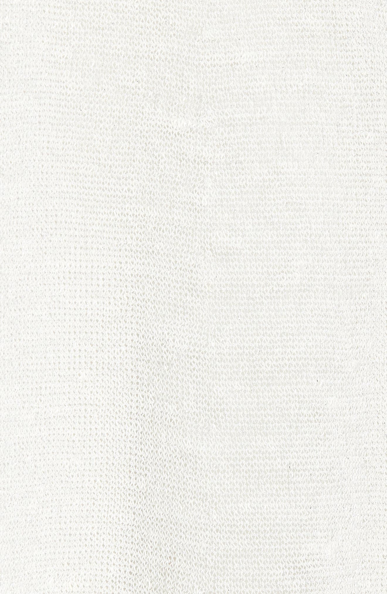 Long Organic Linen Blend Cardigan,                             Alternate thumbnail 11, color,