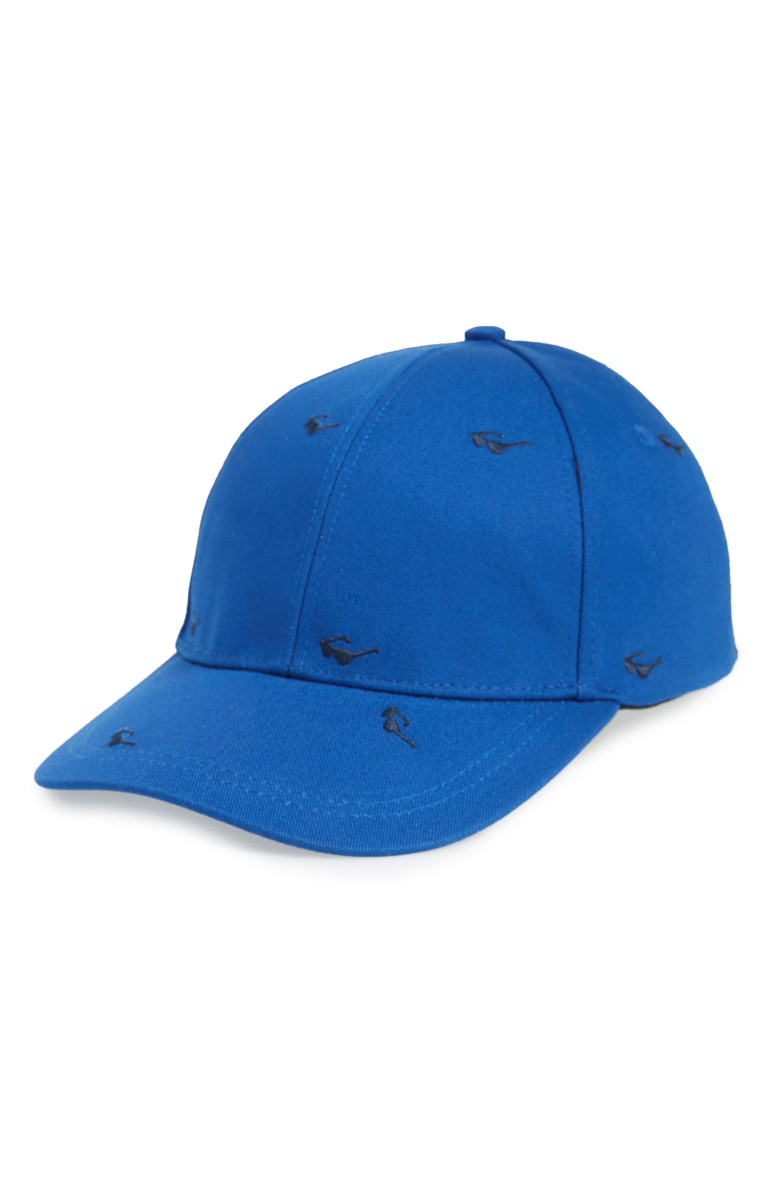 Embroidered Ball Cap,                             Main thumbnail 3, color,