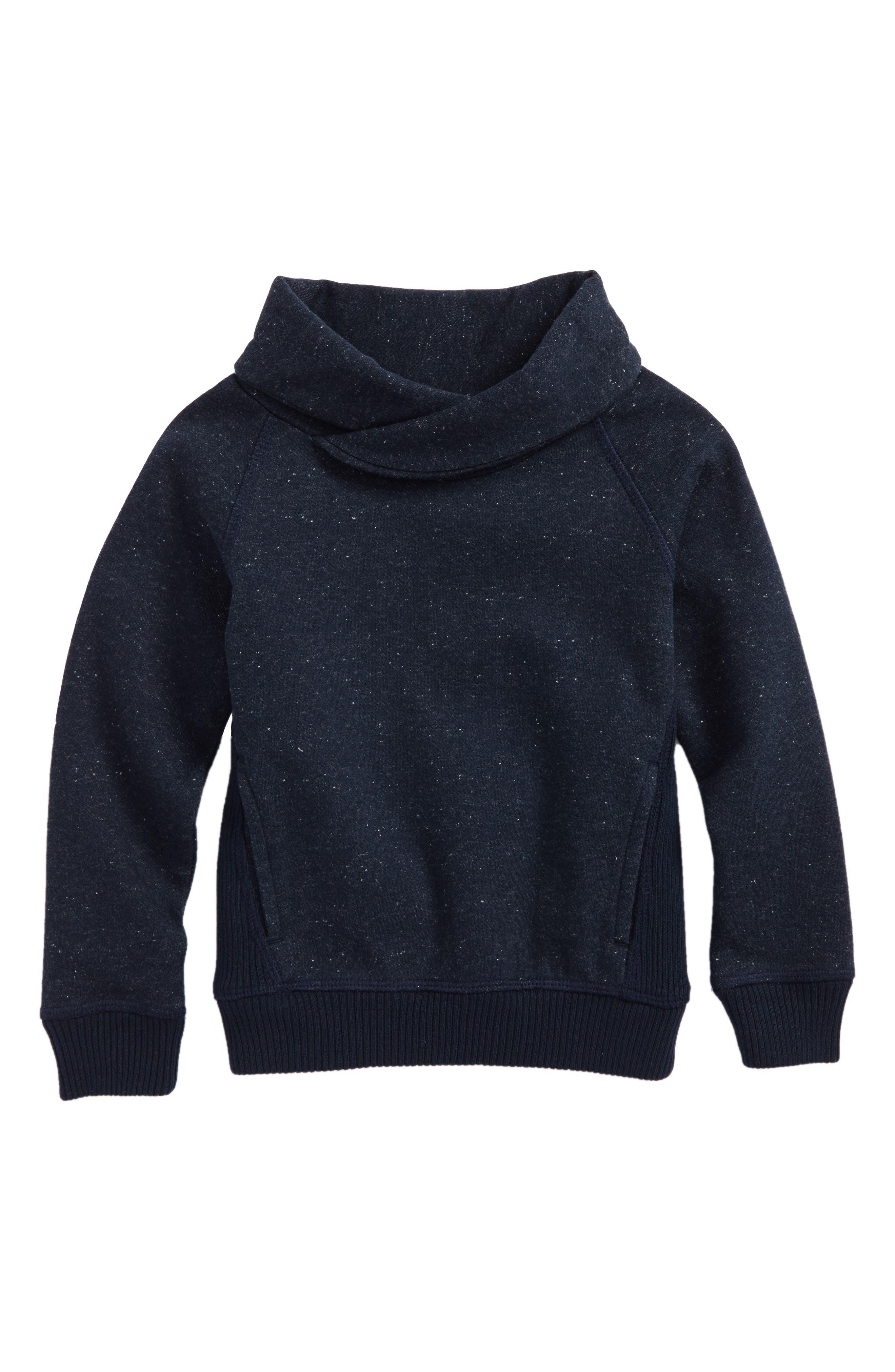 Surplice Collar Pullover,                         Main,                         color, 410