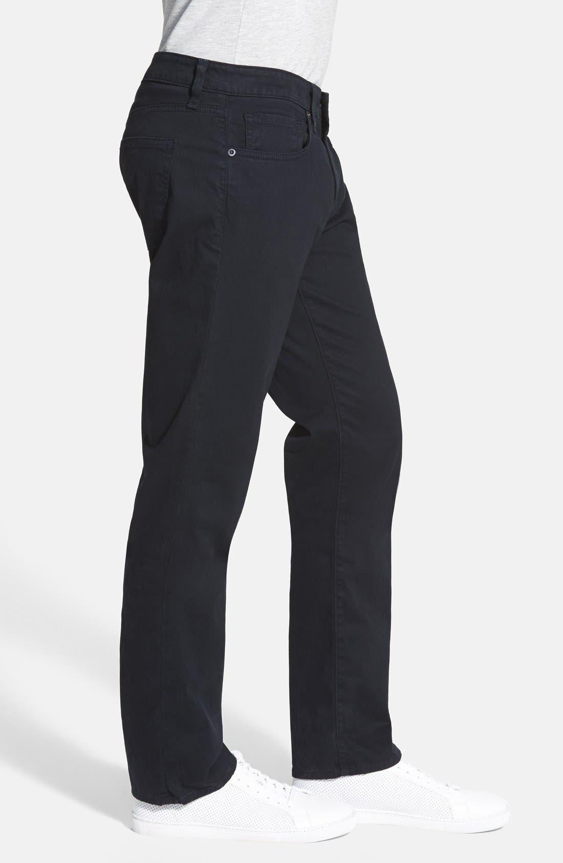 'Kane' Slim Fit Cotton Twill Pants,                             Alternate thumbnail 45, color,