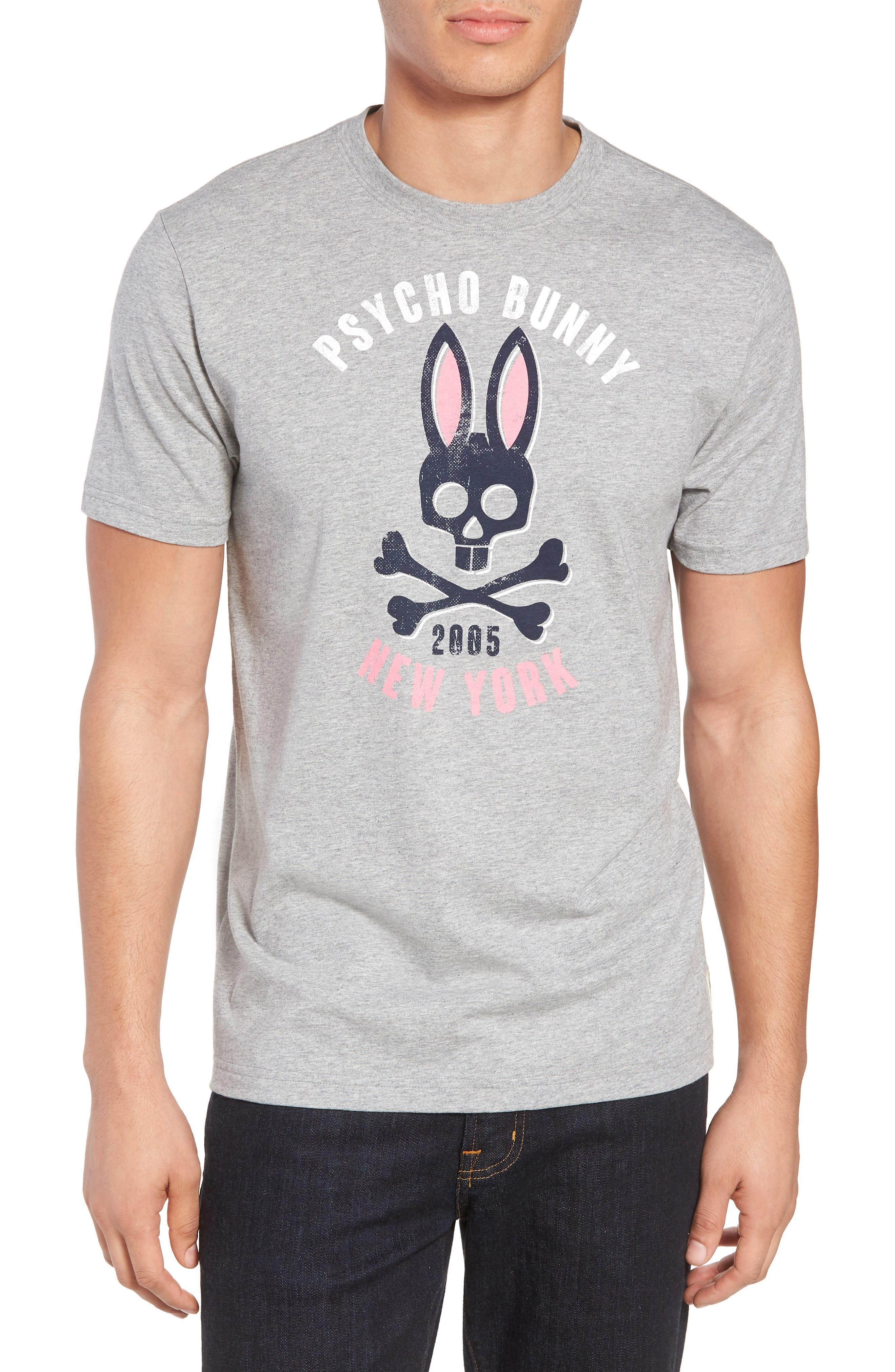 Print T-Shirt,                         Main,                         color, HEATHER GREY