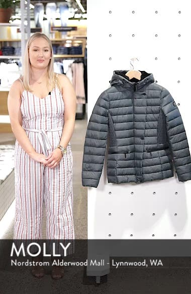 Sporty Hooded Puffer Jacket, sales video thumbnail