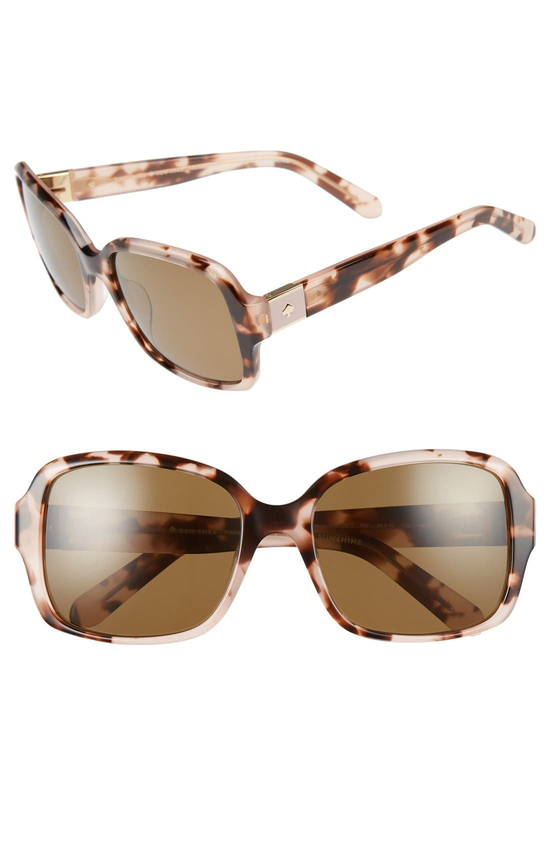 annor 54mm polarized sunglasses,                             Main thumbnail 6, color,