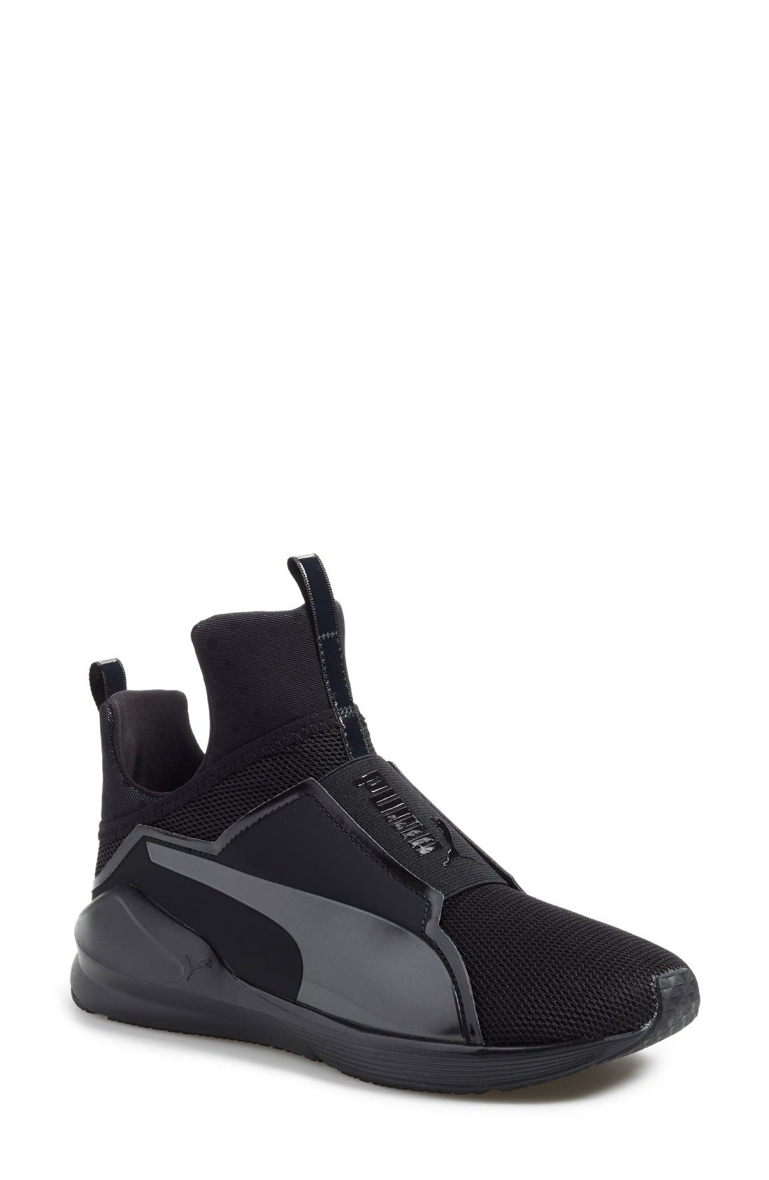 'Fierce Core' High Top Sneaker,                             Main thumbnail 1, color,                             001