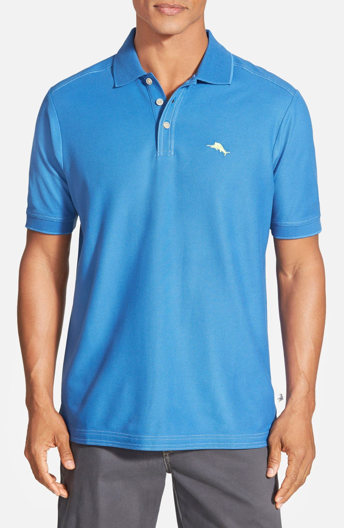 'The Emfielder' Original Fit Piqué Polo,                             Main thumbnail 73, color,