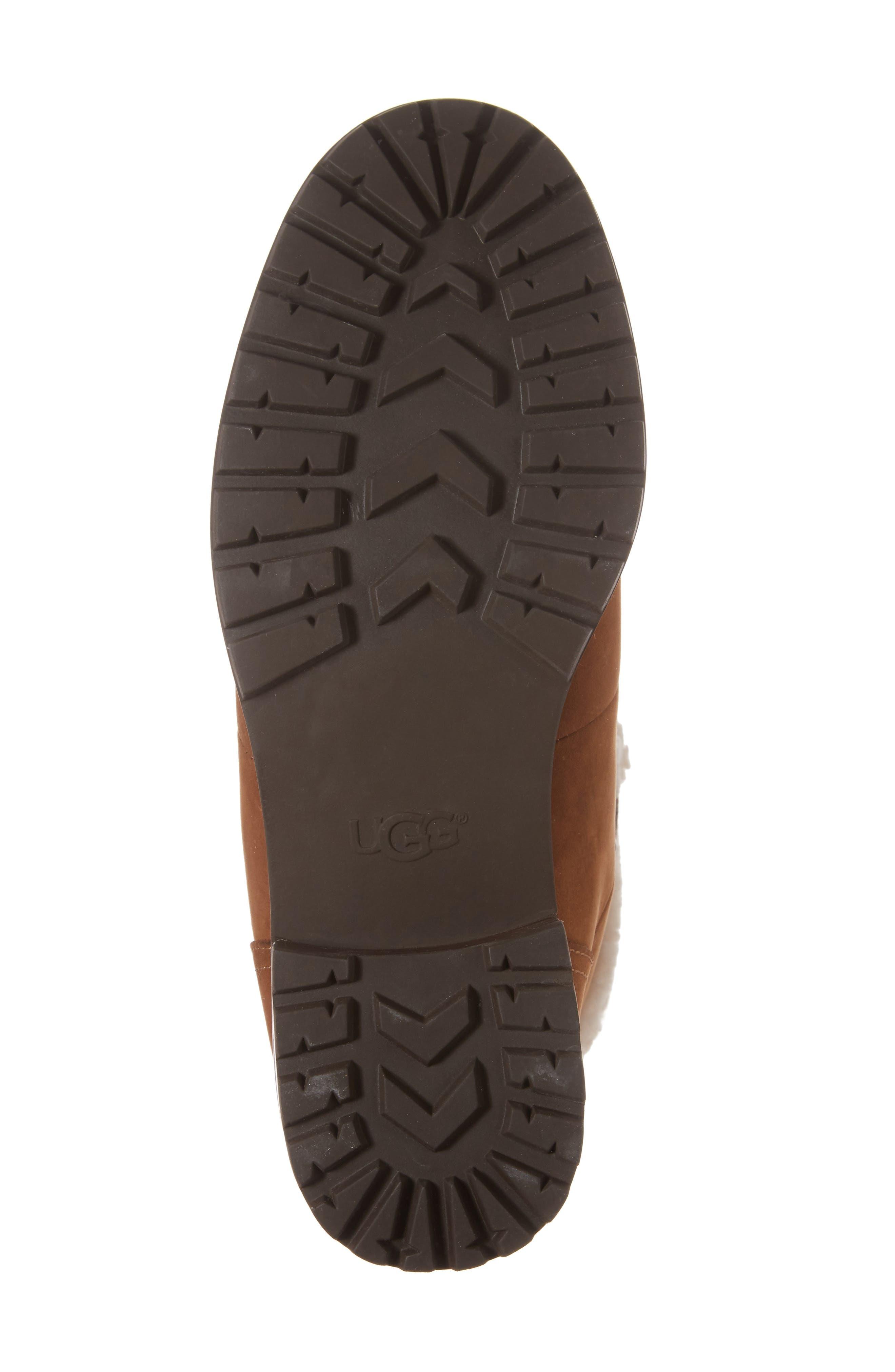 Fraser Genuine Shearling Water Resistant Boot,                             Alternate thumbnail 24, color,