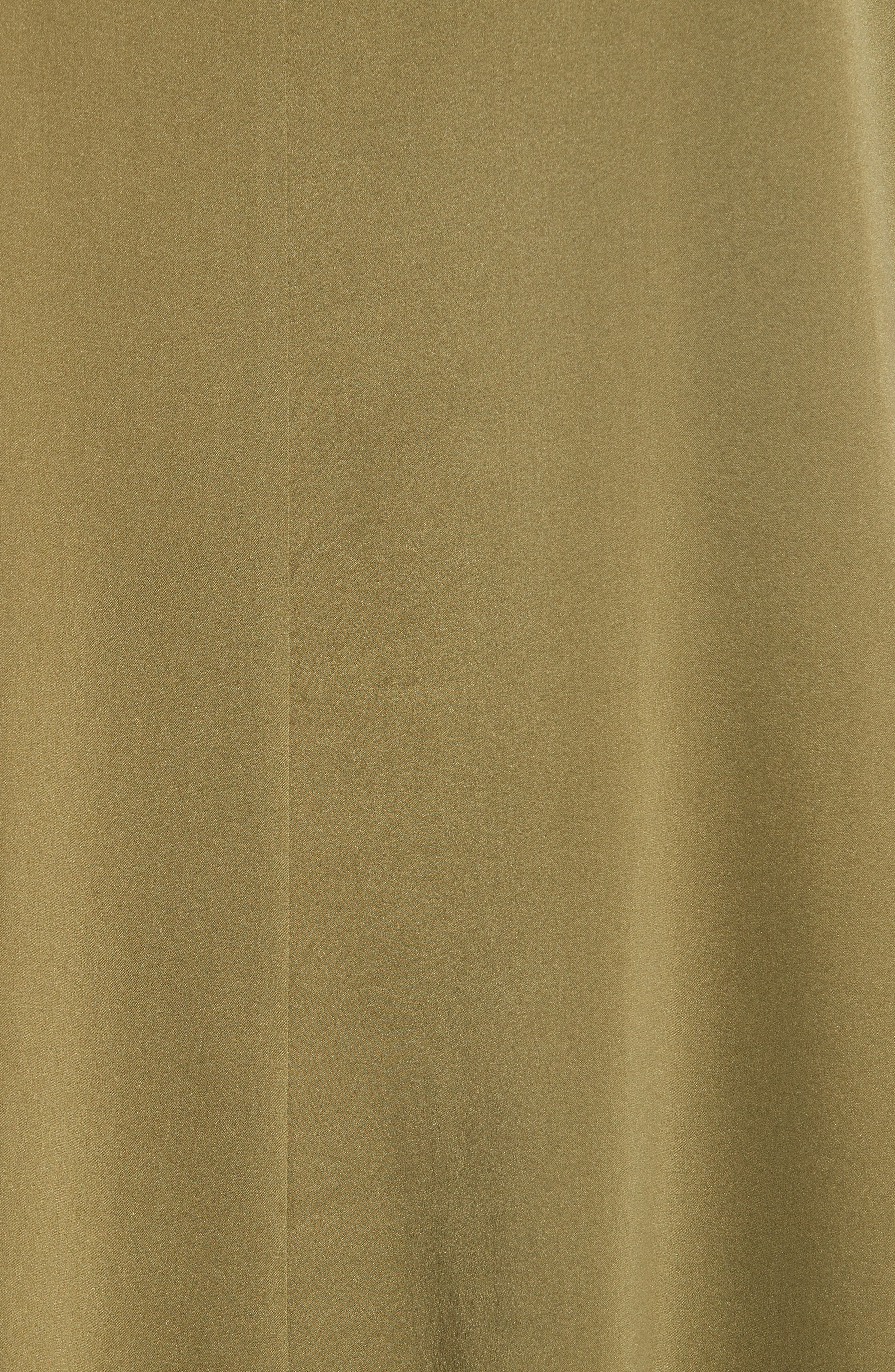 Stretch Silk Top,                             Alternate thumbnail 5, color,                             301