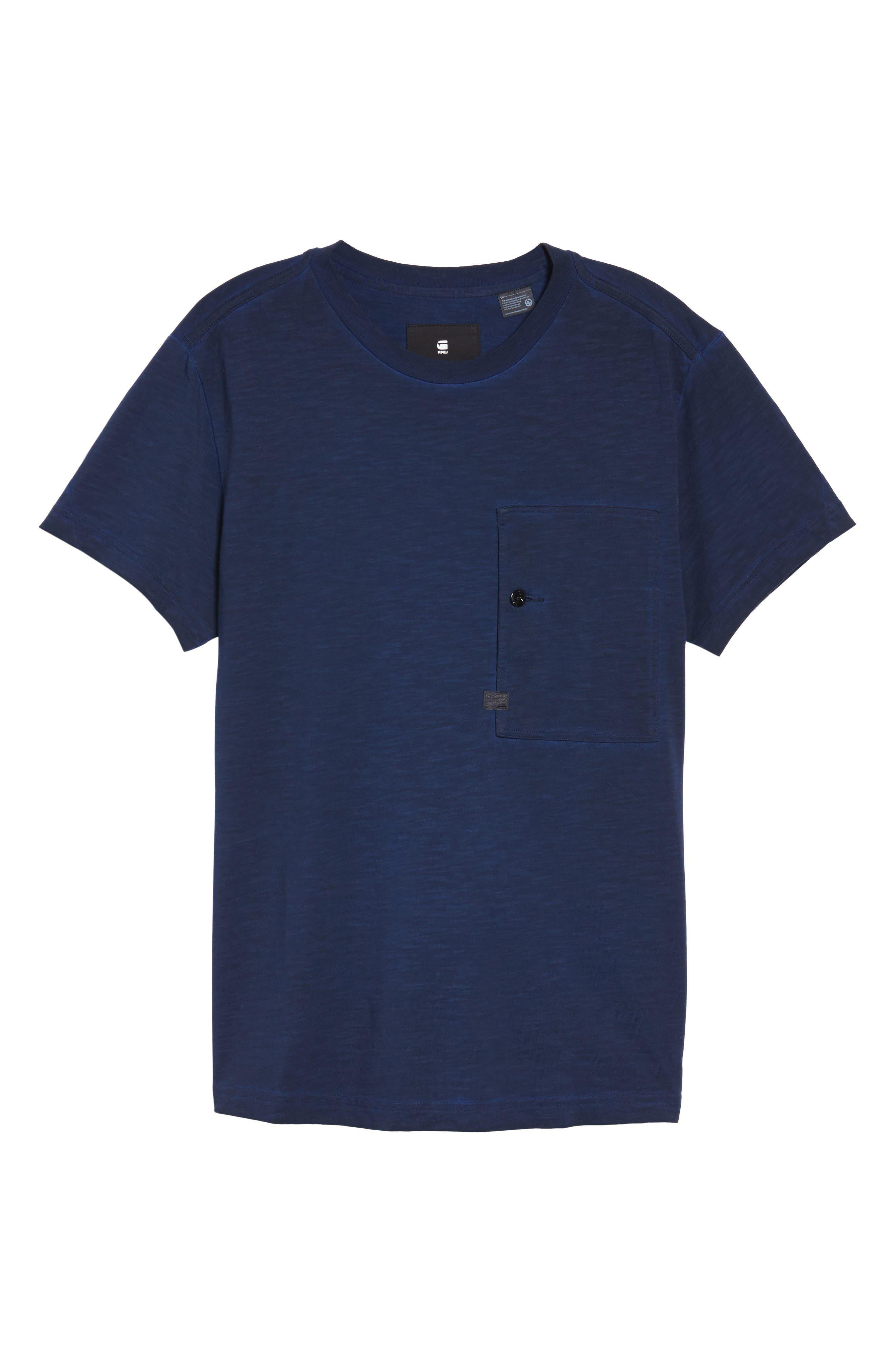 Stalt Pocket T-Shirt,                             Alternate thumbnail 6, color,                             400