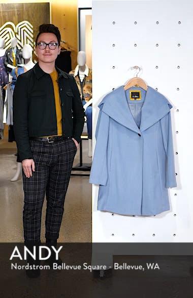 Shawl Collar Hooded Coat, sales video thumbnail