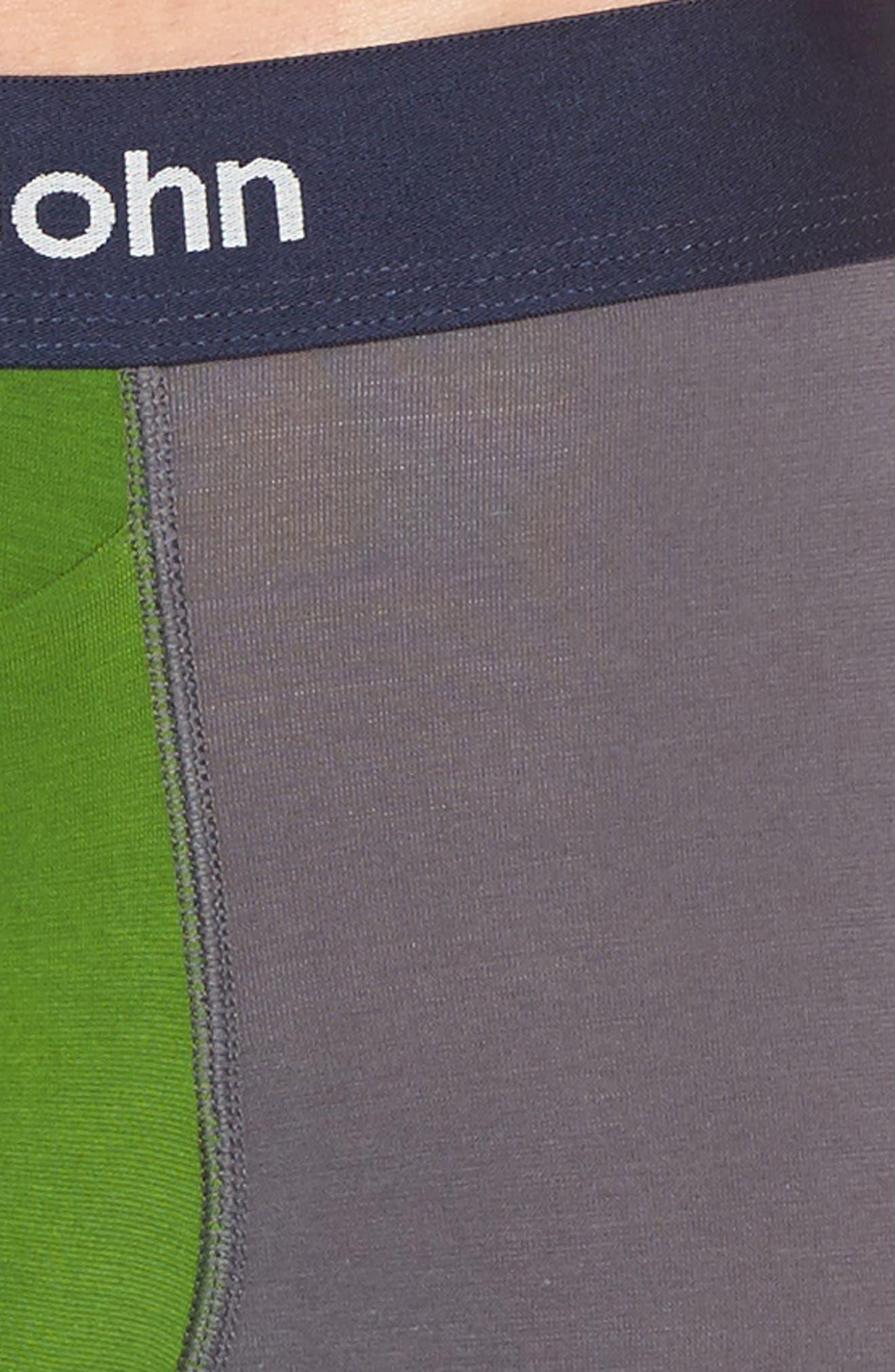 Cool Cotton Blend Boxer Briefs,                             Alternate thumbnail 4, color,                             094