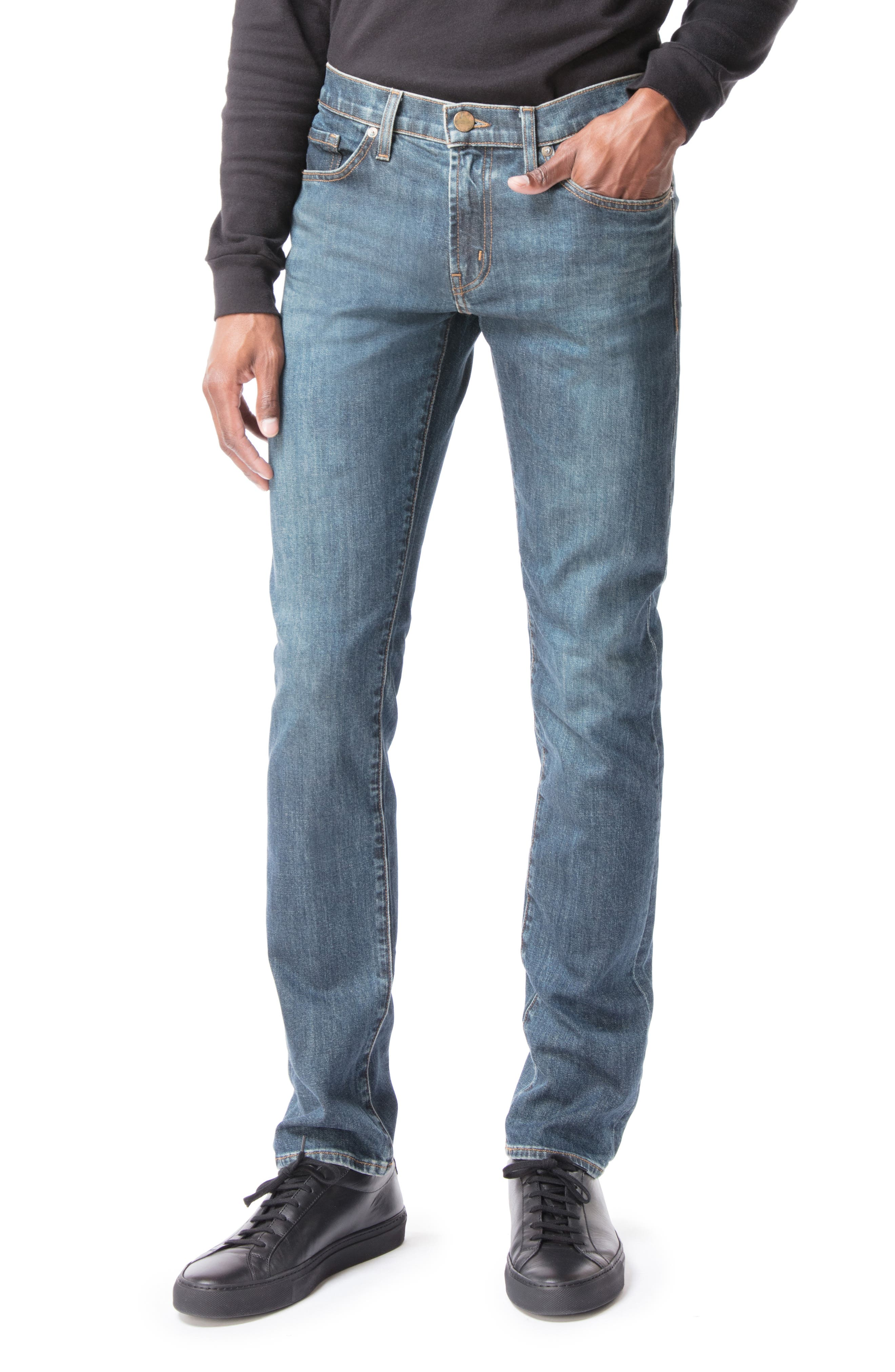 Tyler Slim Fit Jeans, Main, color, 400