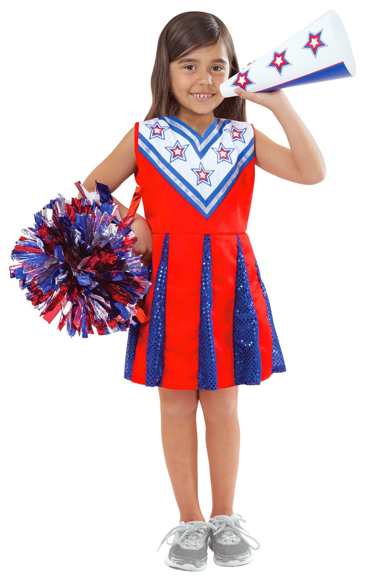 Girls Melissa  Doug Cheerleader Role Play Set