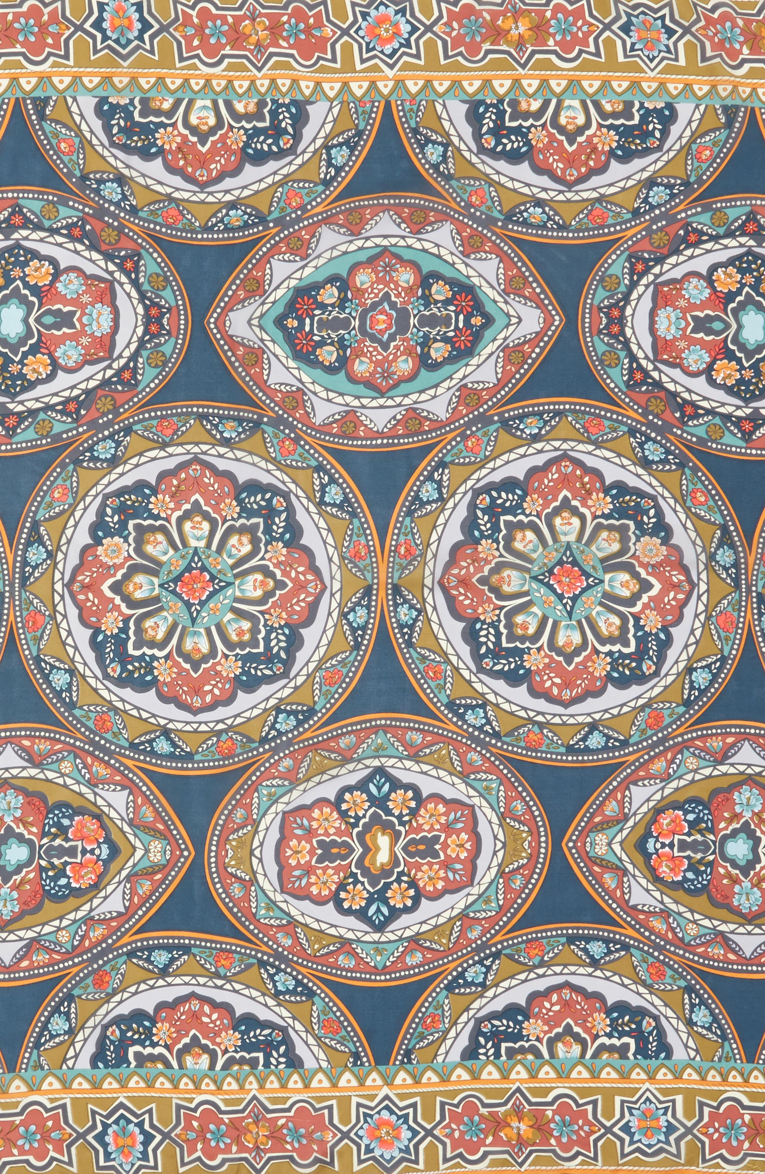Spezia Silk Scarf,                             Alternate thumbnail 4, color,                             400