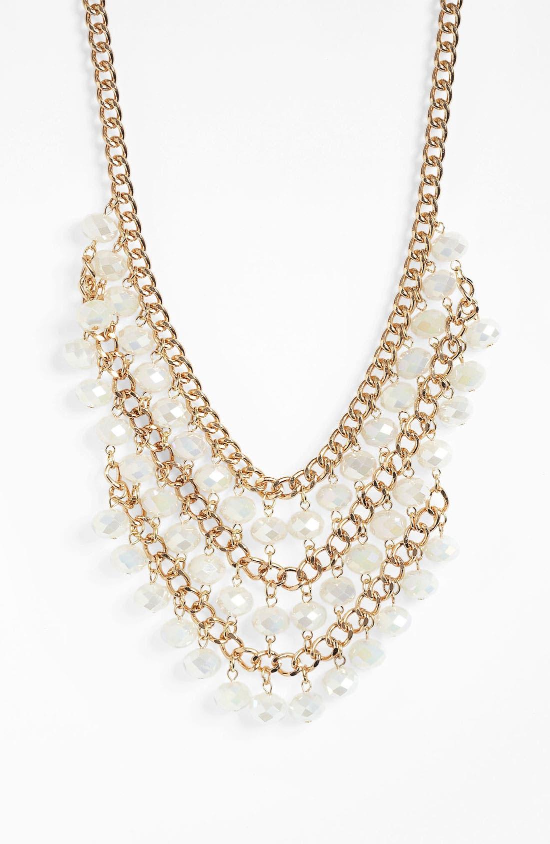 Bib Necklace, Main, color, 100