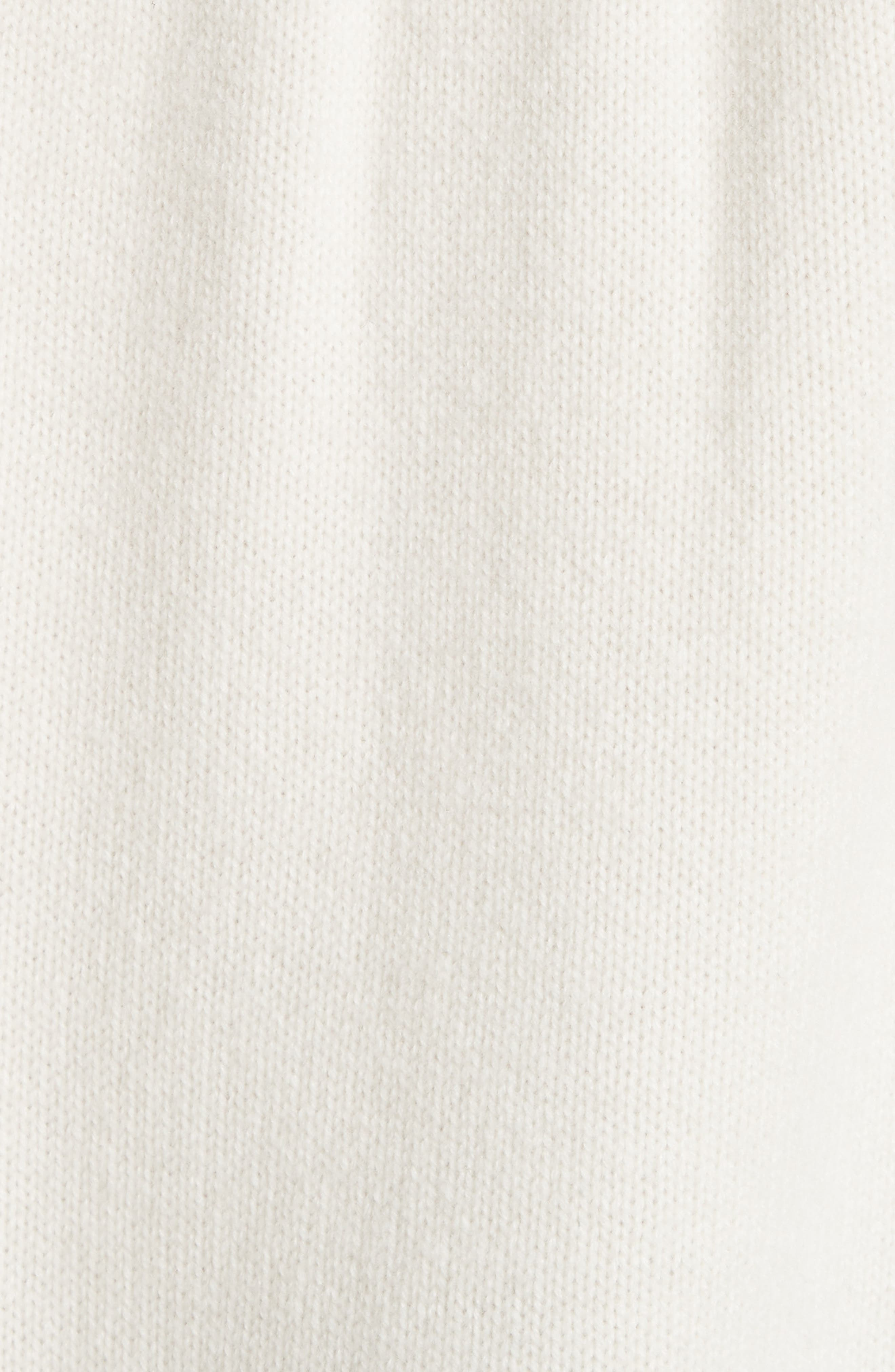 Rib Knit Cashmere Tunic Sweater,                             Alternate thumbnail 5, color,                             900