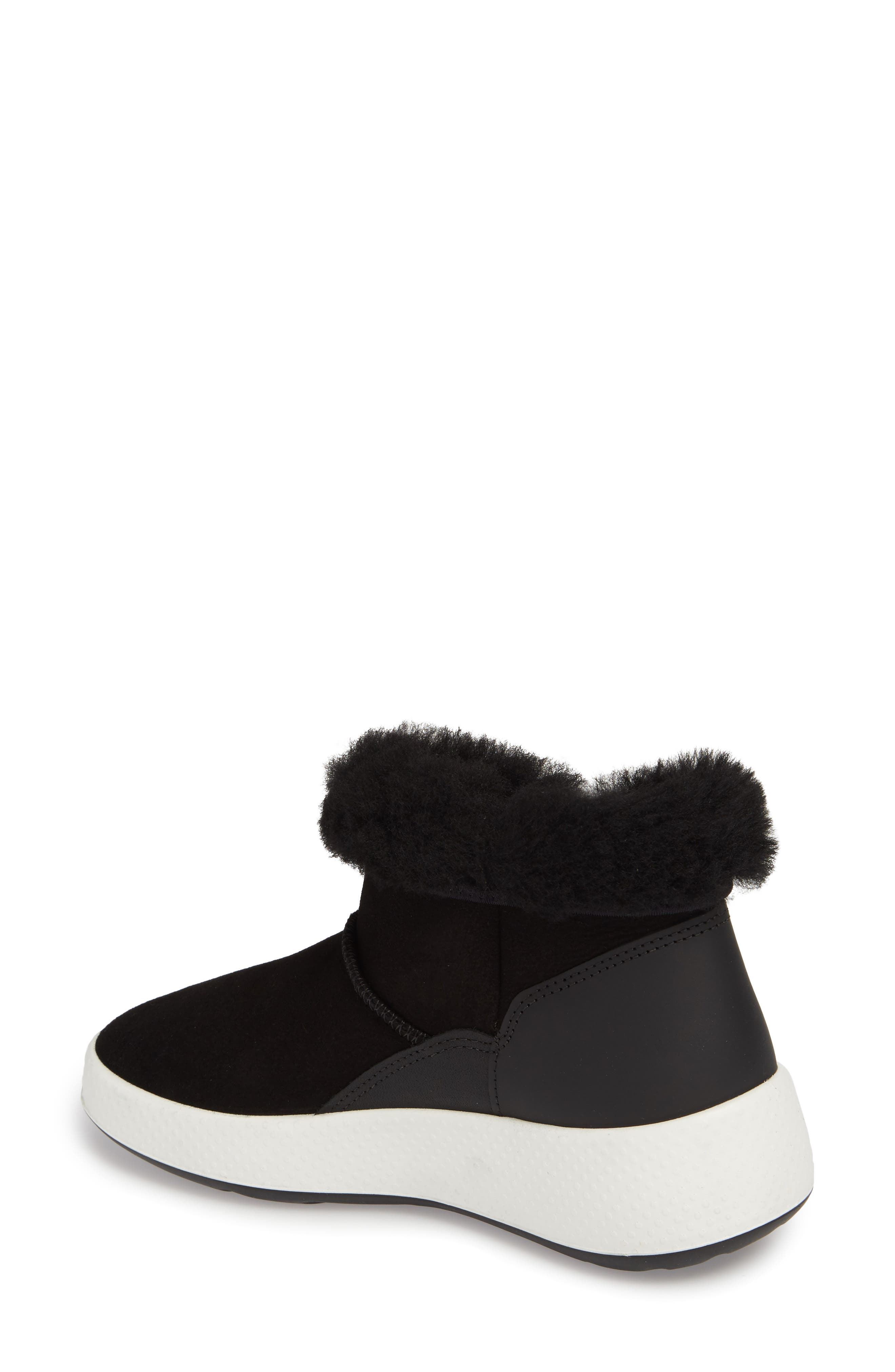 Ukiuk Genuine Shearling Boot,                             Alternate thumbnail 2, color,                             001