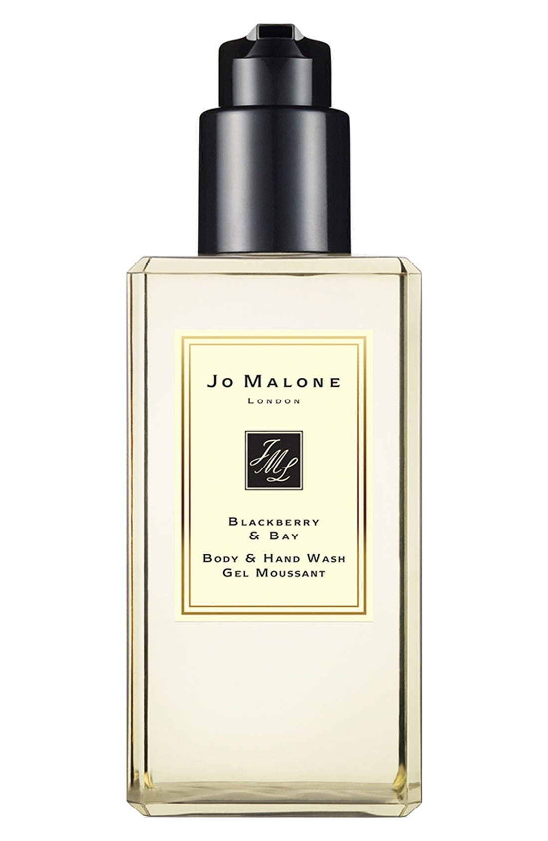 Jo Malone<sup>™</sup> Blackberry & Bay Body & Hand Wash,                             Alternate thumbnail 6, color,