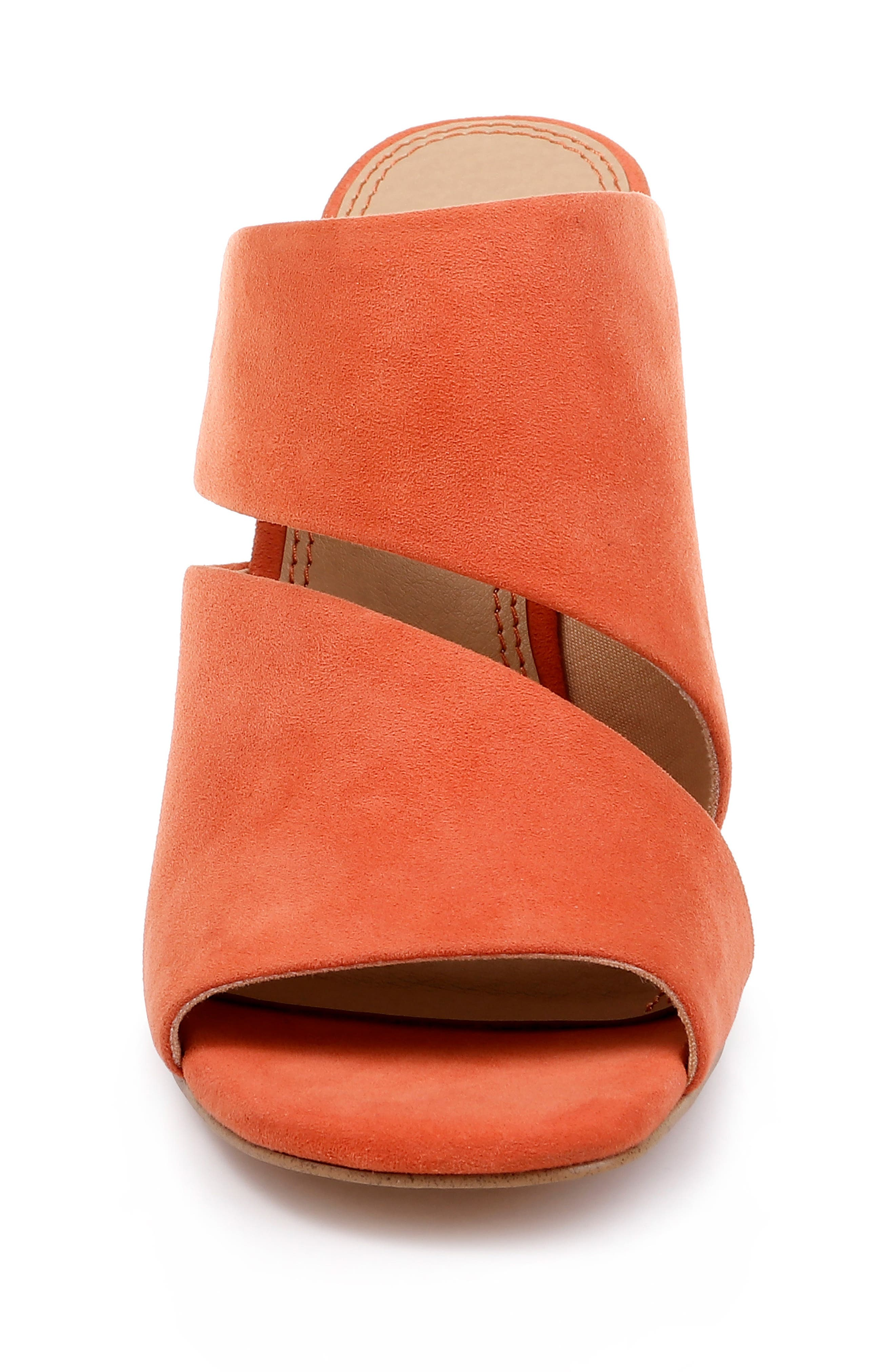 Serenade Sandal,                             Alternate thumbnail 4, color,                             ORANGE SUEDE